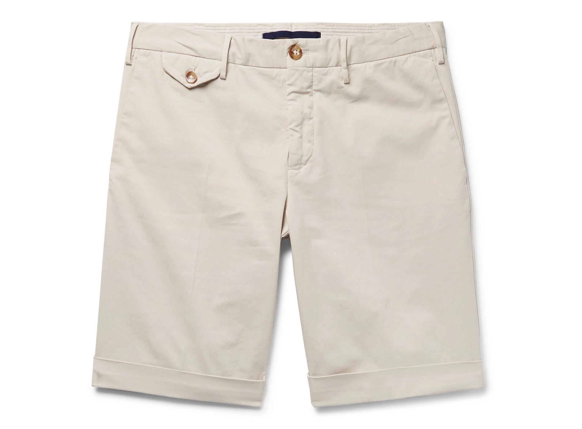 Style Mr Porter Short Gabardine Incotex