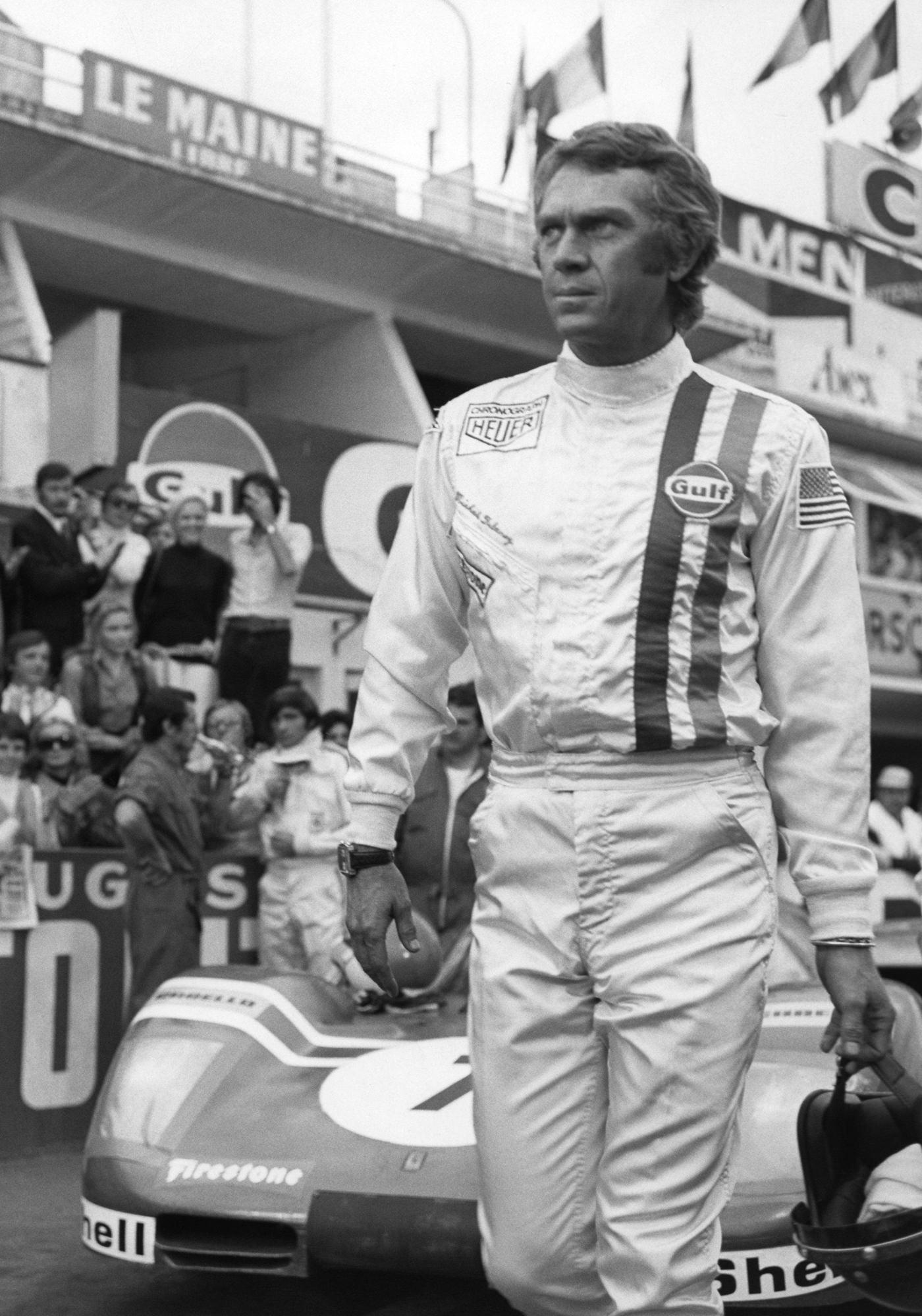 Steve McQueen Acteur Pilote Automobile