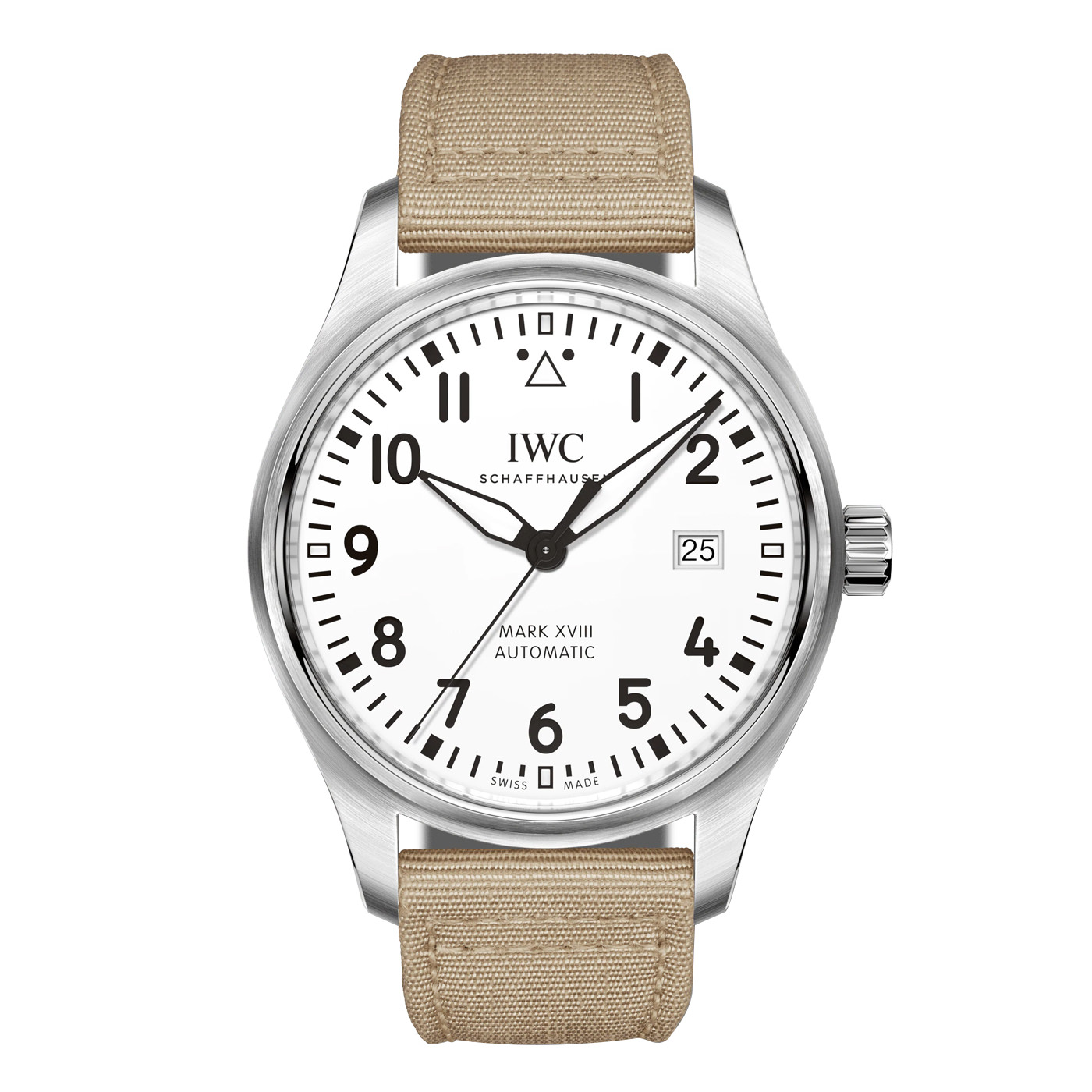 Style Mr Porter IWC Schaffhausen Pilot Mark XVIII Automatic 40mm Beige