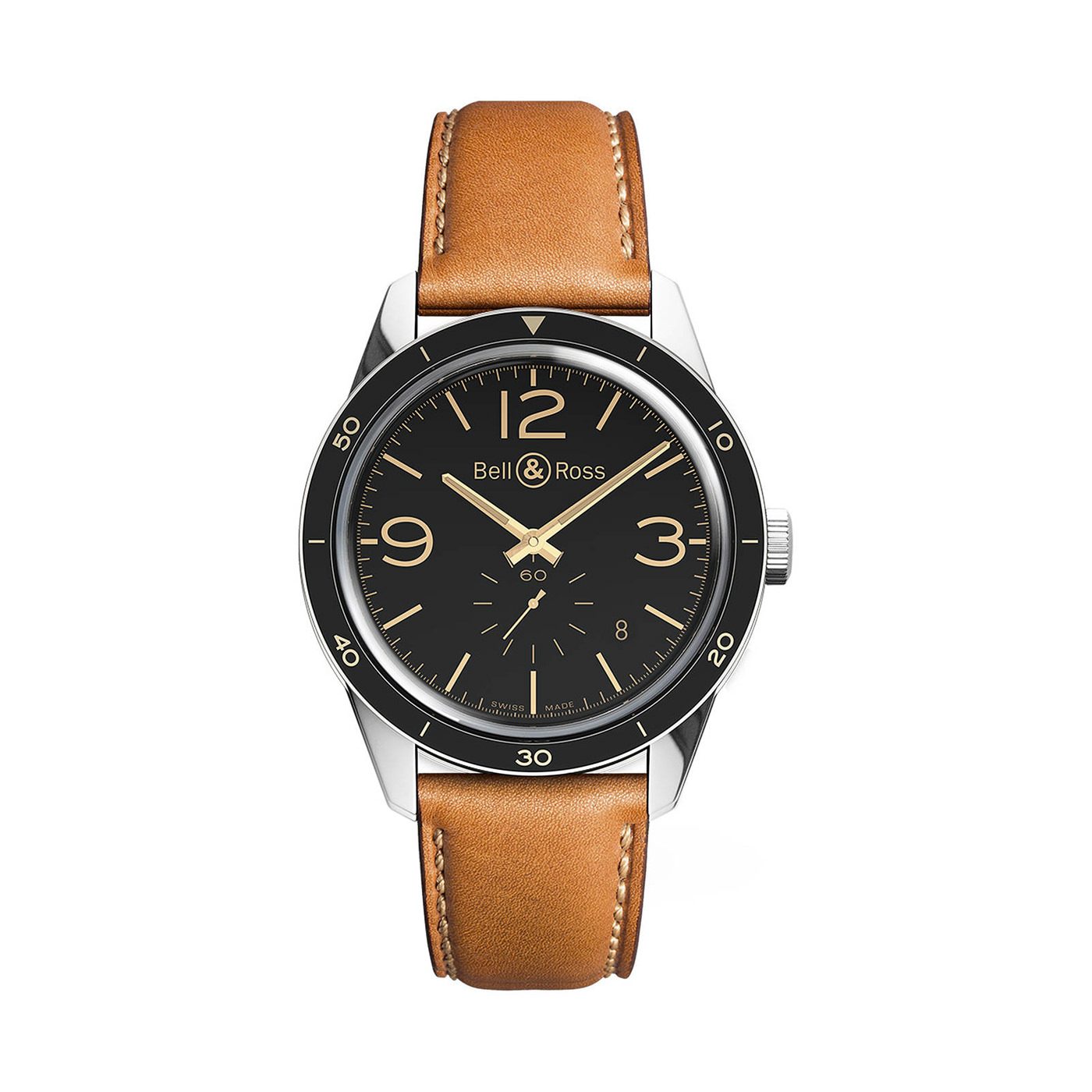 Style Mr Porter Montre Bell & Ross BR123 Heritage Automatic 41mm