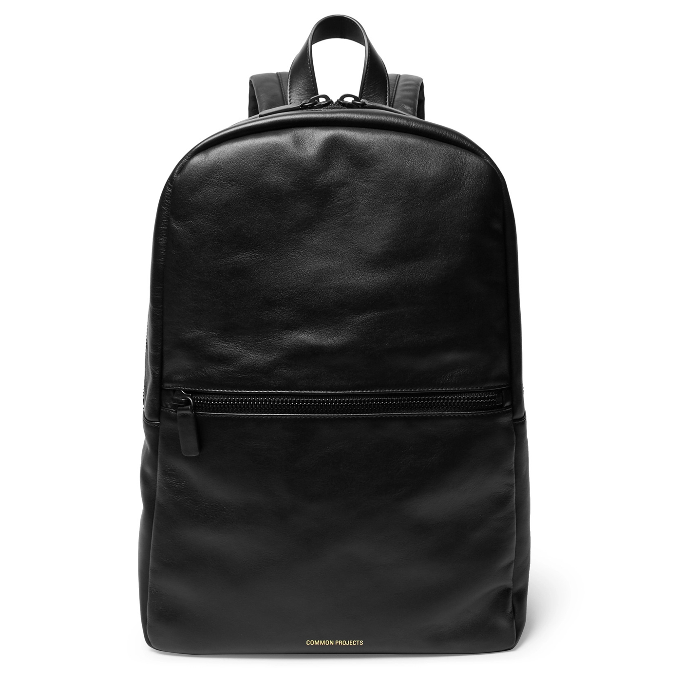 Style Mr Porter Sac Backpack Common Projects Cuir Noir