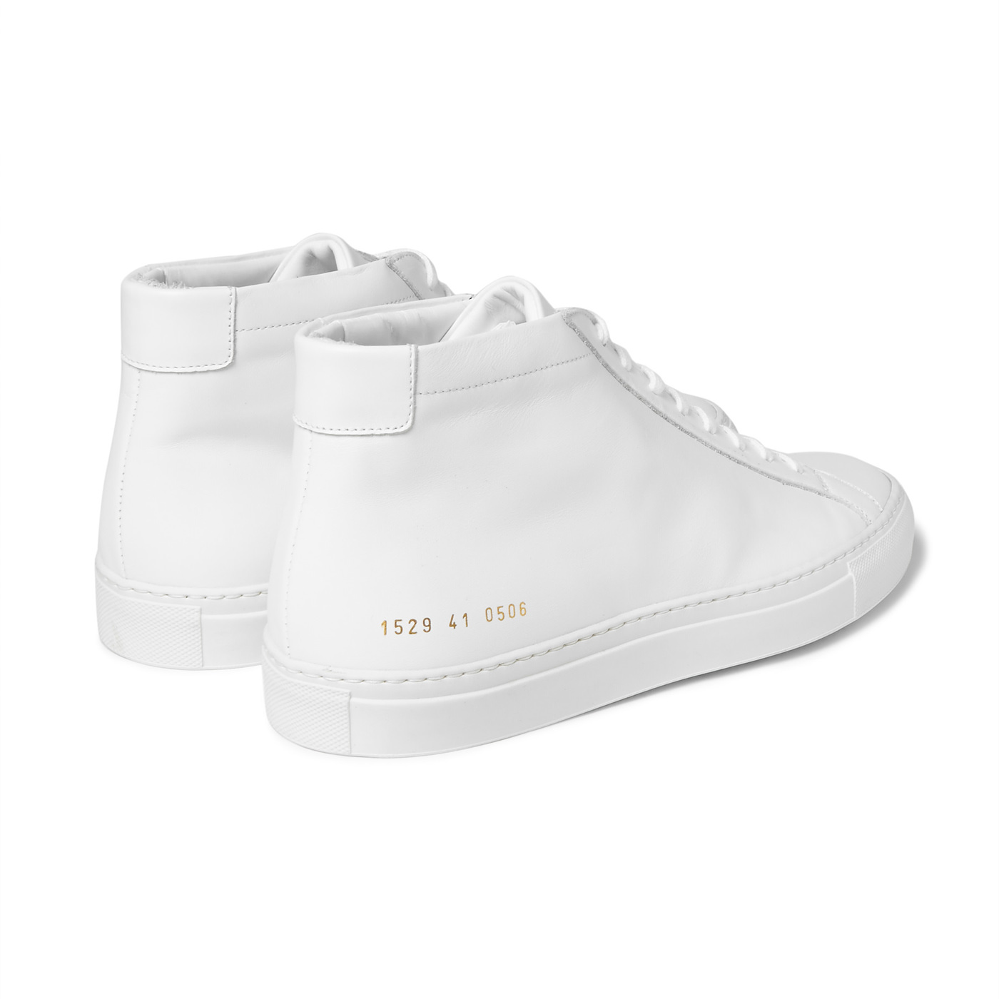 Style Mr Porter Sneakers Common Projects Achilles Cuir Blanc
