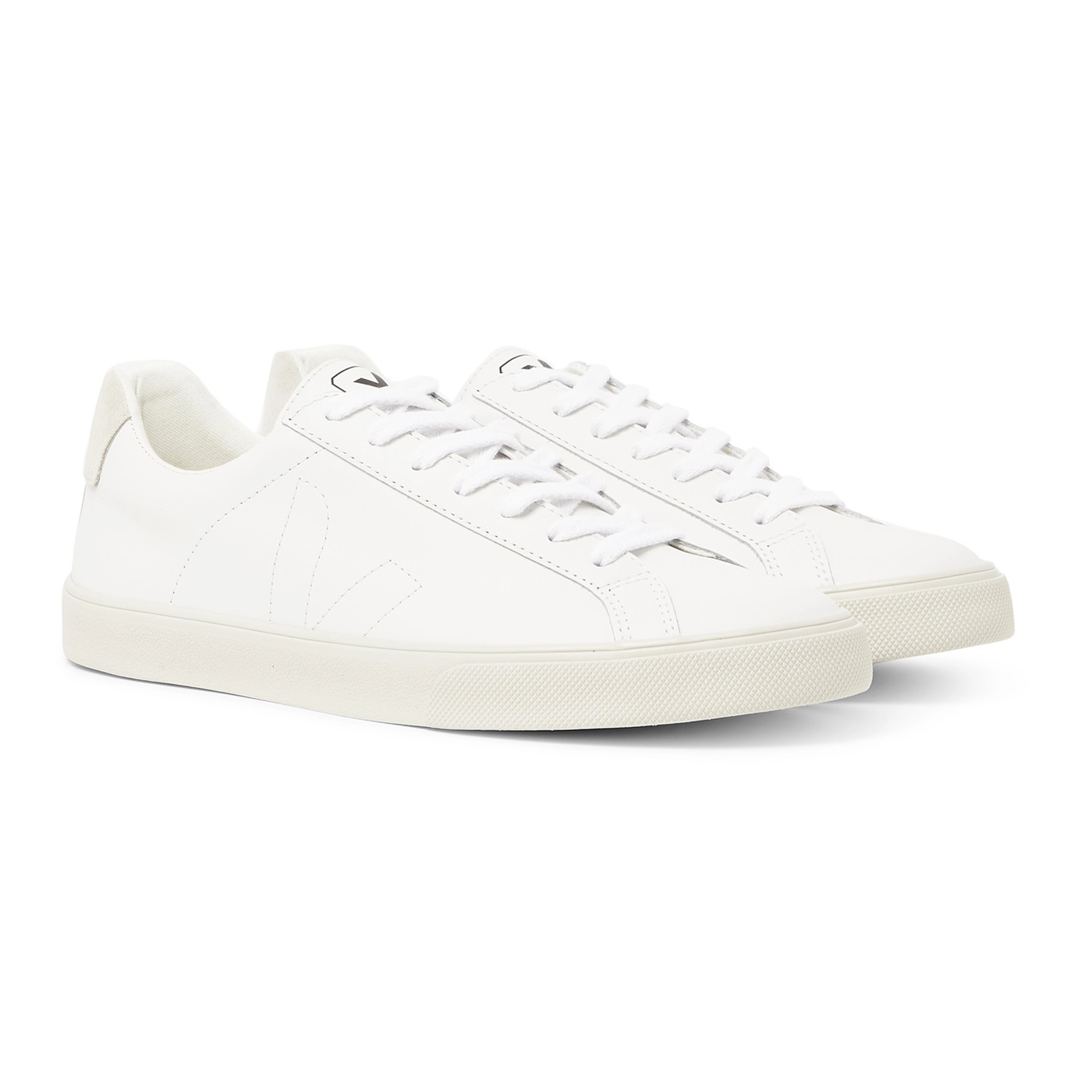 Style Mr Porter Sneakers Chaussures Veja Cuir Blanc