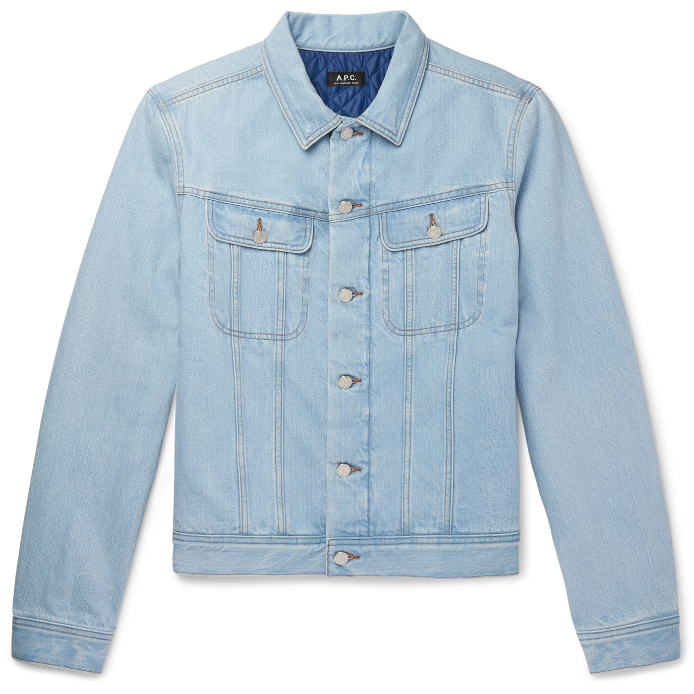 Style Mr Porter Veste Denim Jeans APC