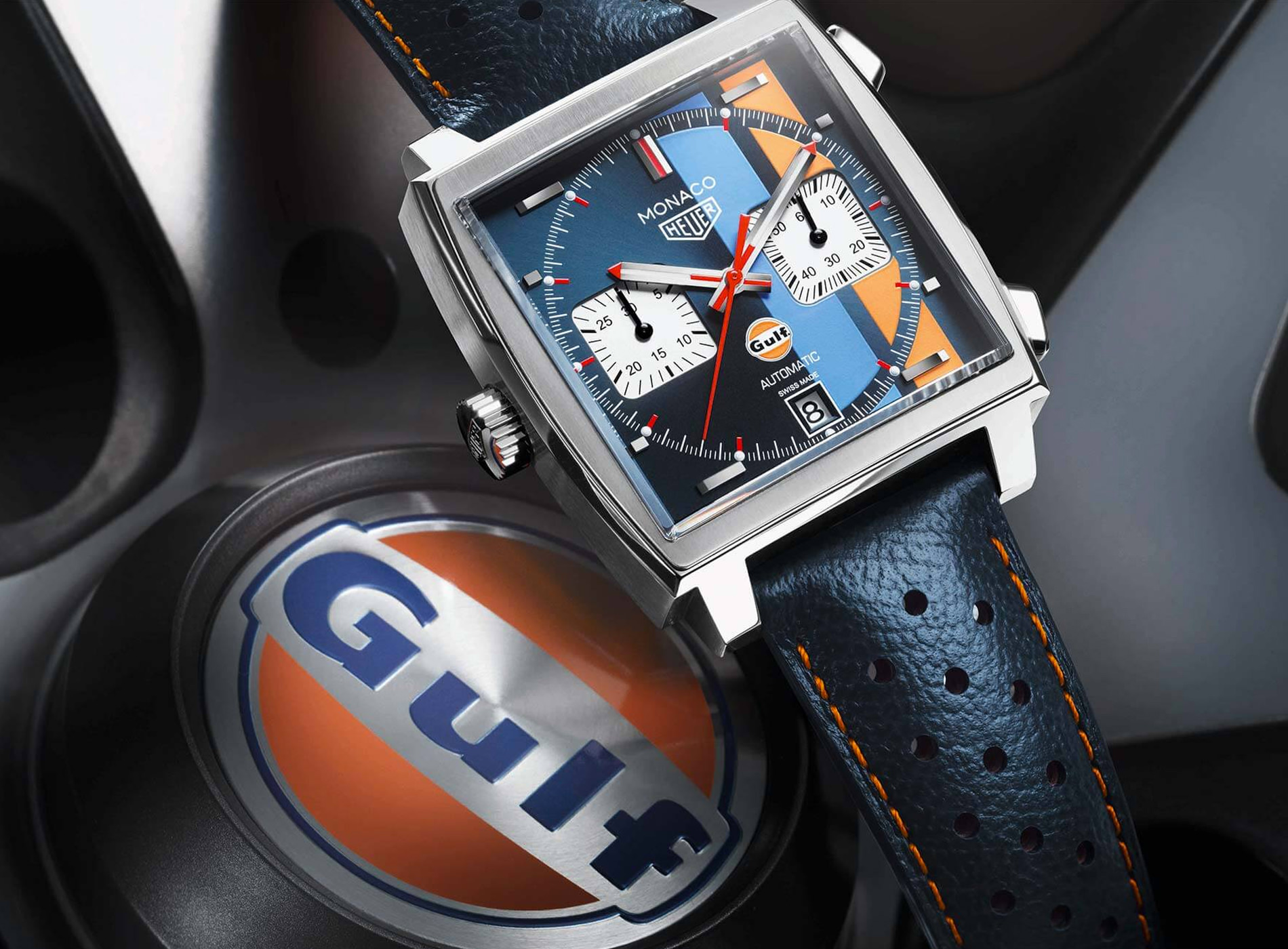 Tag Heuer Monaco Calibre 11 Chronographe Automatique Gulf Edition 2018
