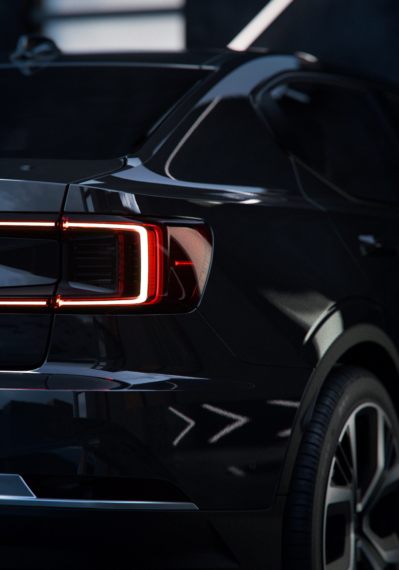 The Polestar 2 Electric Car London Package Black Détails