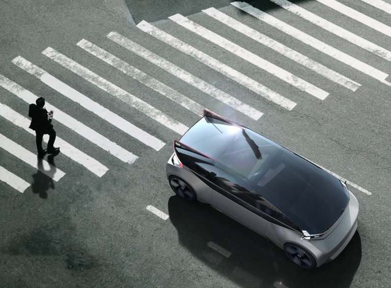 Concept Volvo 360C Détection Piéton