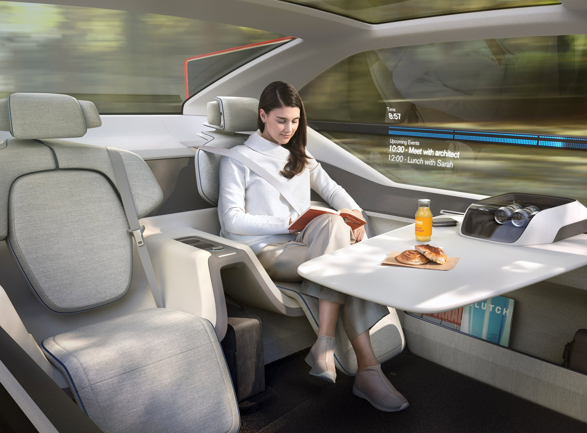 Concept Volvo 360C Position Détente