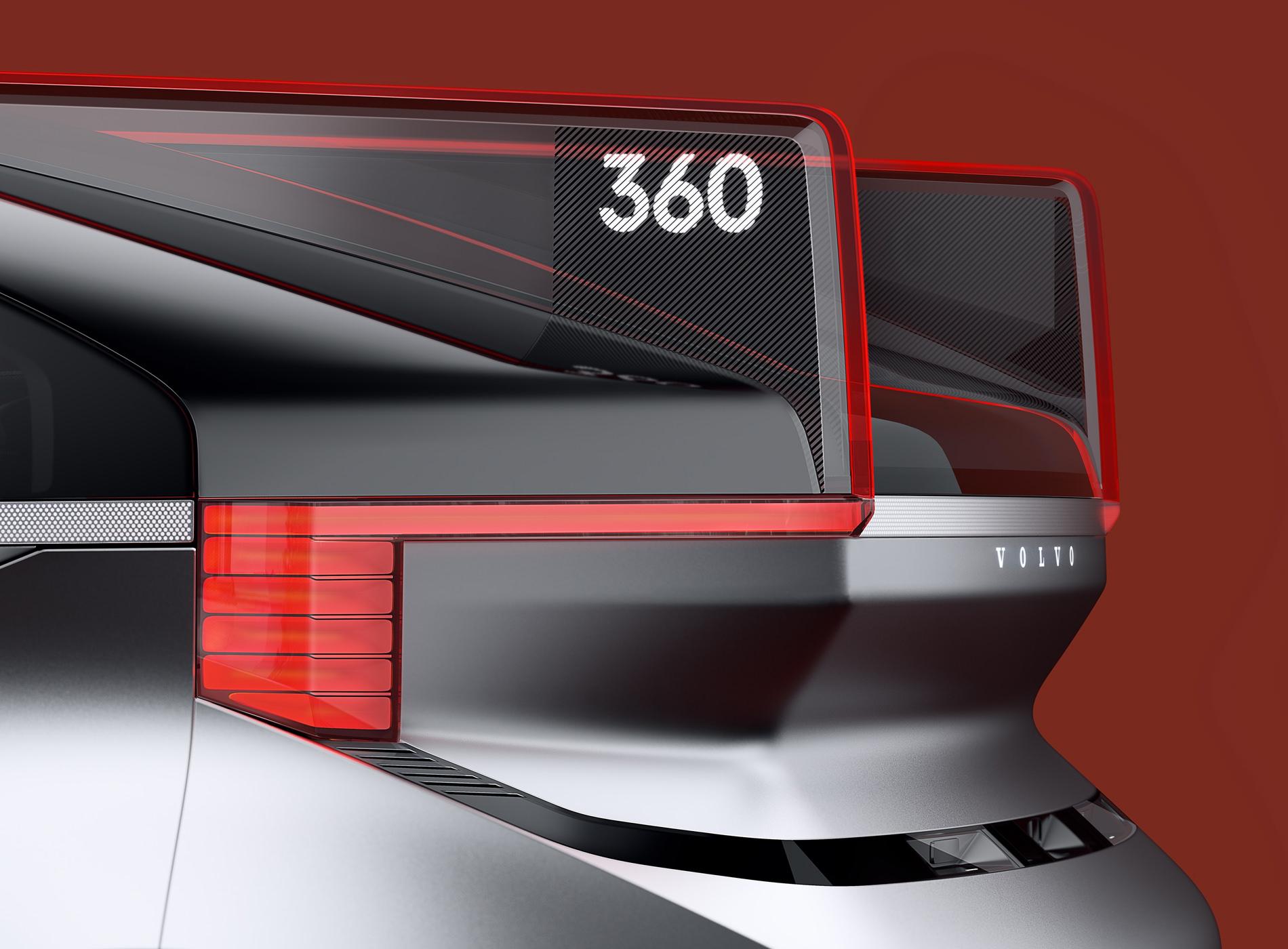 Concept Volvo 360C Design Carrosserie Détails