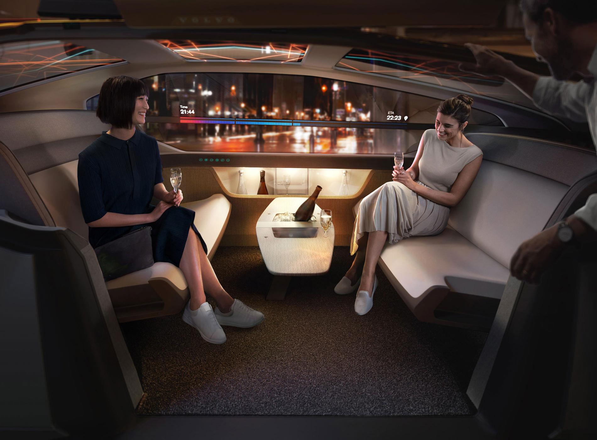Concept Volvo 360C Position Plaisir
