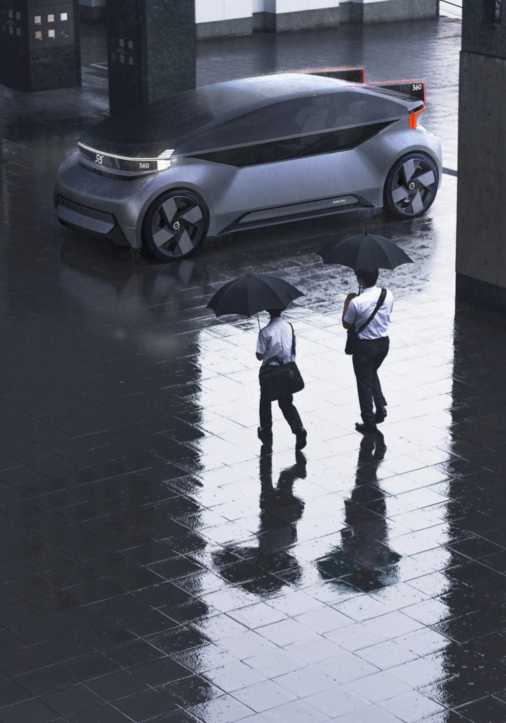 Concept Volvo 360C Urbain