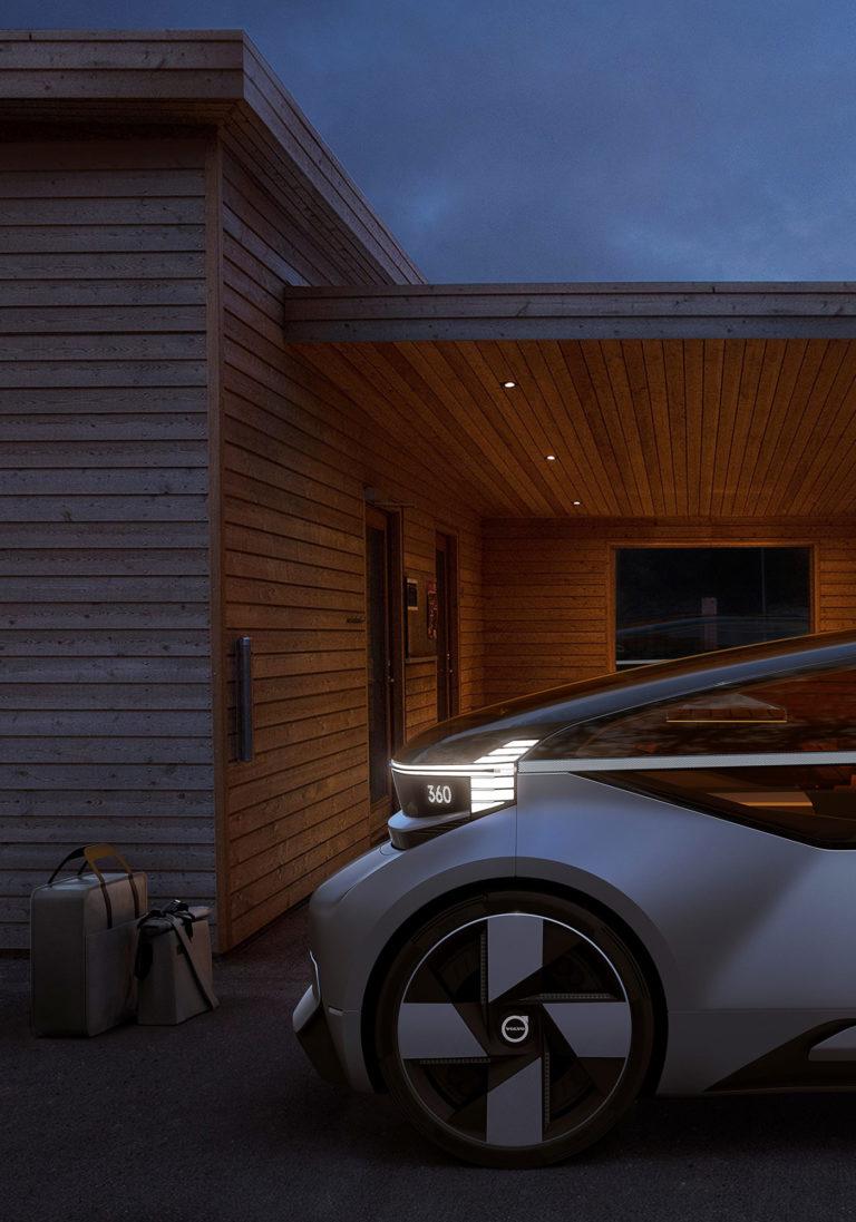 Concept Volvo 360C Home