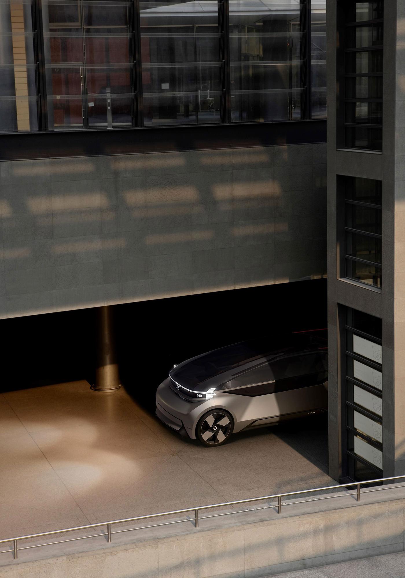 Concept Volvo 360C Urbain Parking
