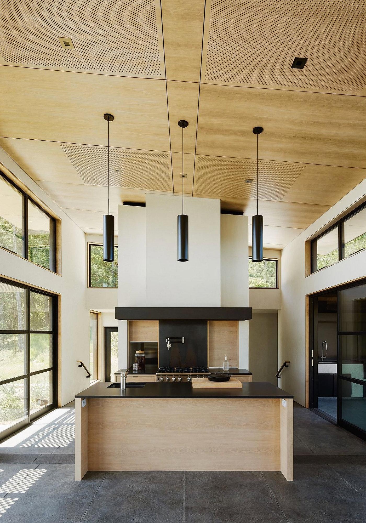 Healdsburg House Sonoma Californie Architecture Cuisine