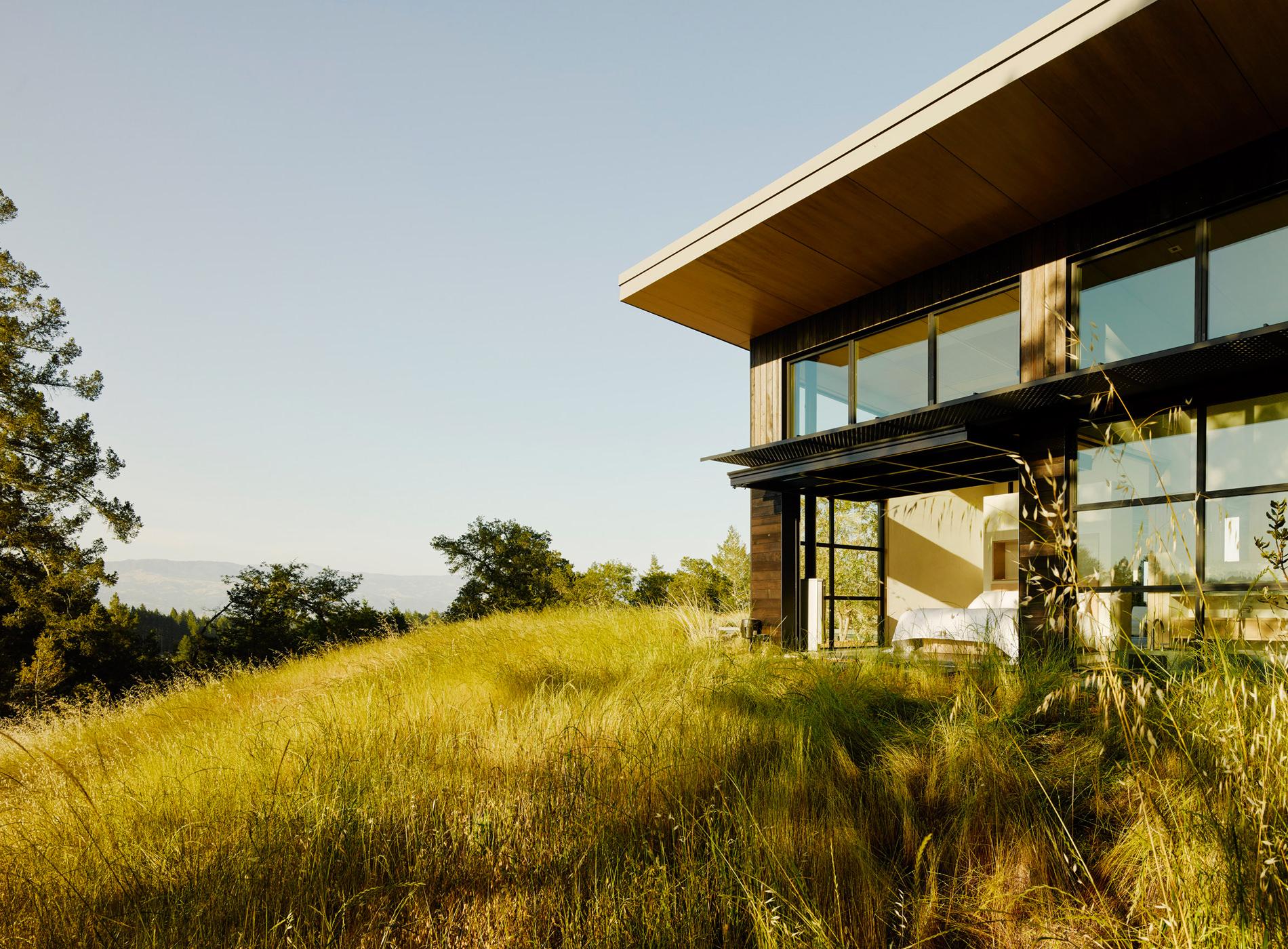 Healdsburg House Sonoma Californie Architecture Détails Paysages