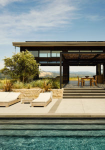 Healdsburg House Sonoma Californie Architecture Piscine