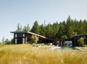 Healdsburg House Sonoma Californie Architecture Vue Générale