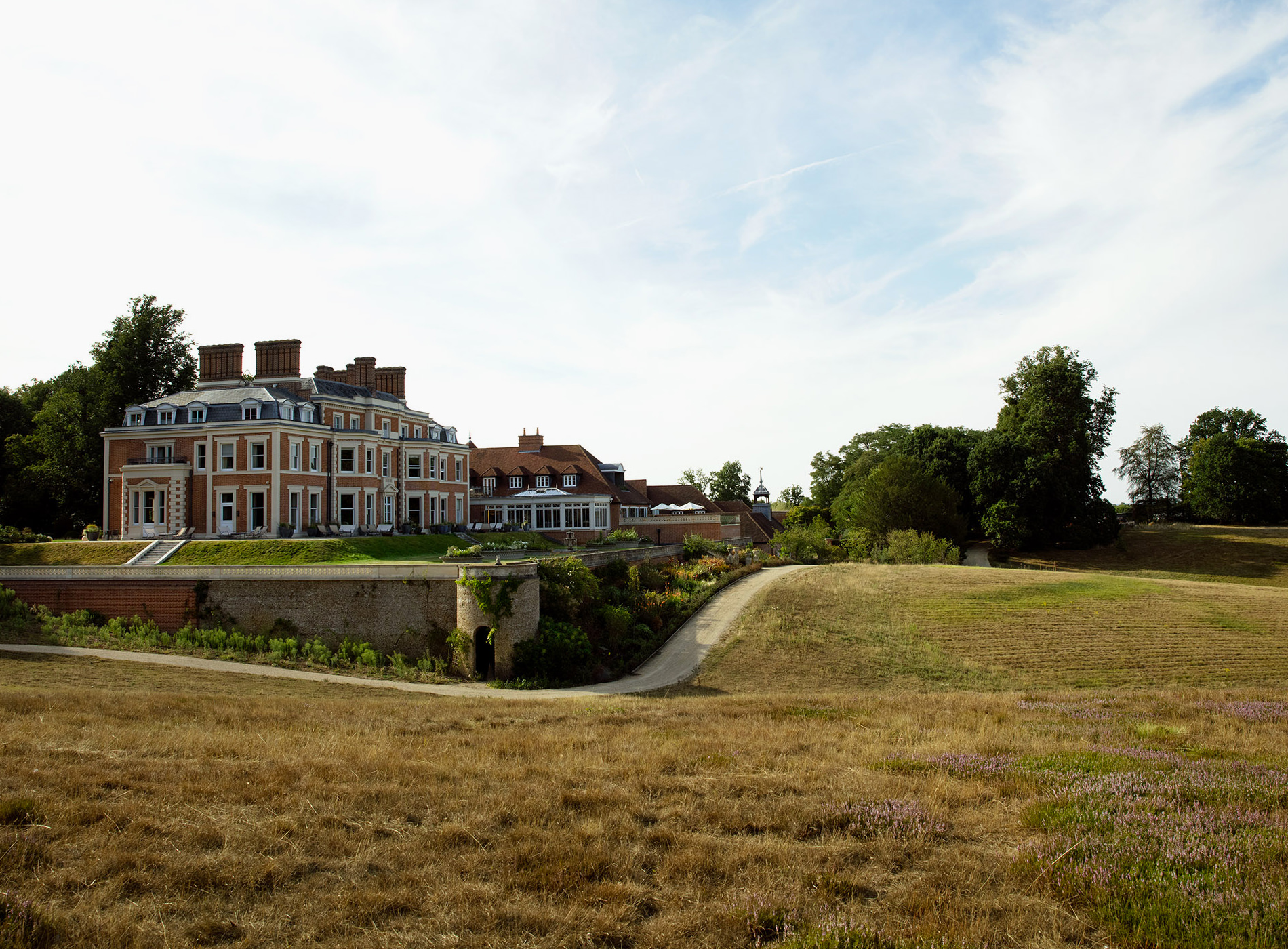 Heckfield Place Hotel Country House Hampshire Architecture