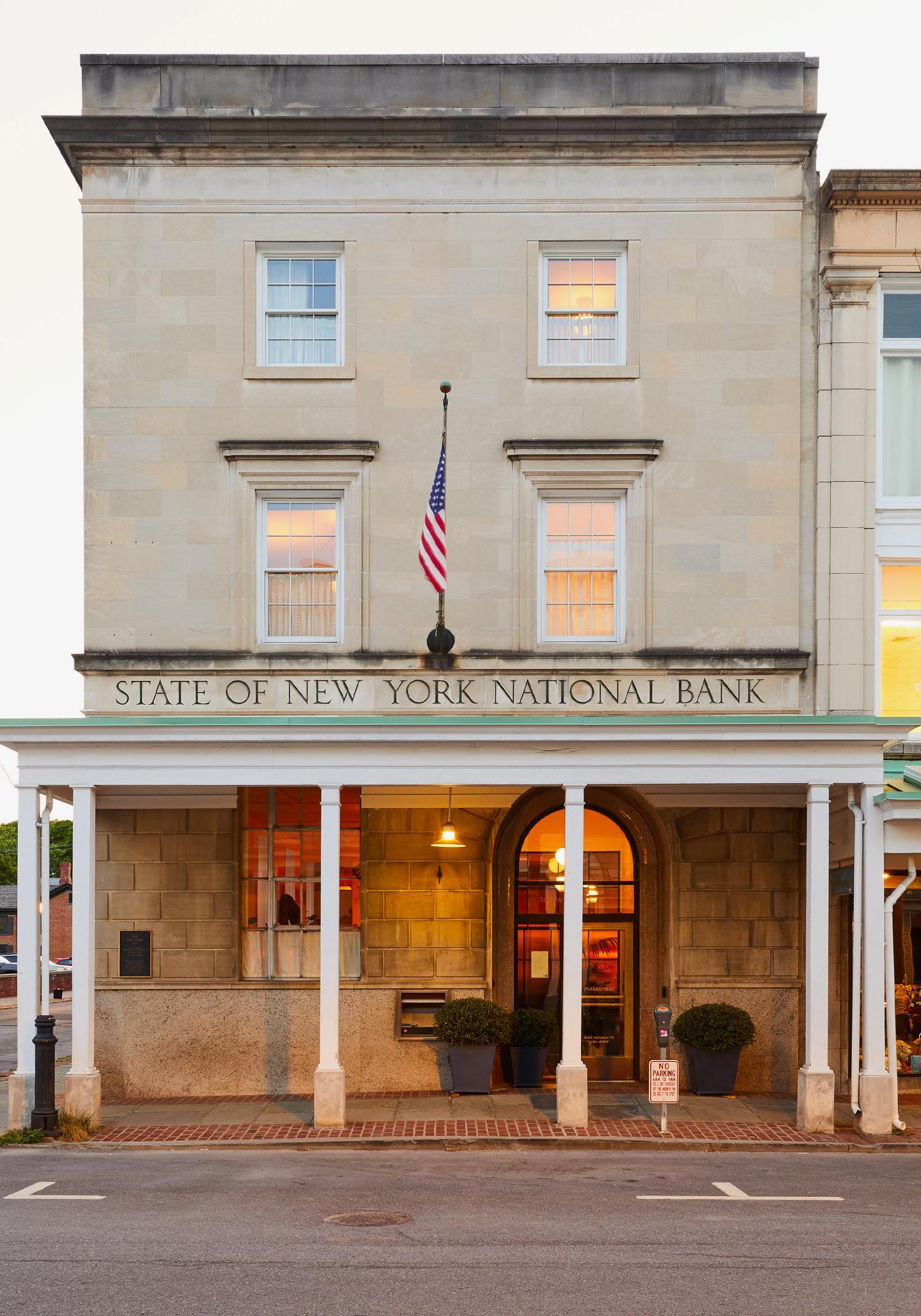 Hotel Kinsley Uptown Kingston Etat New York Hudson Valley Architecture