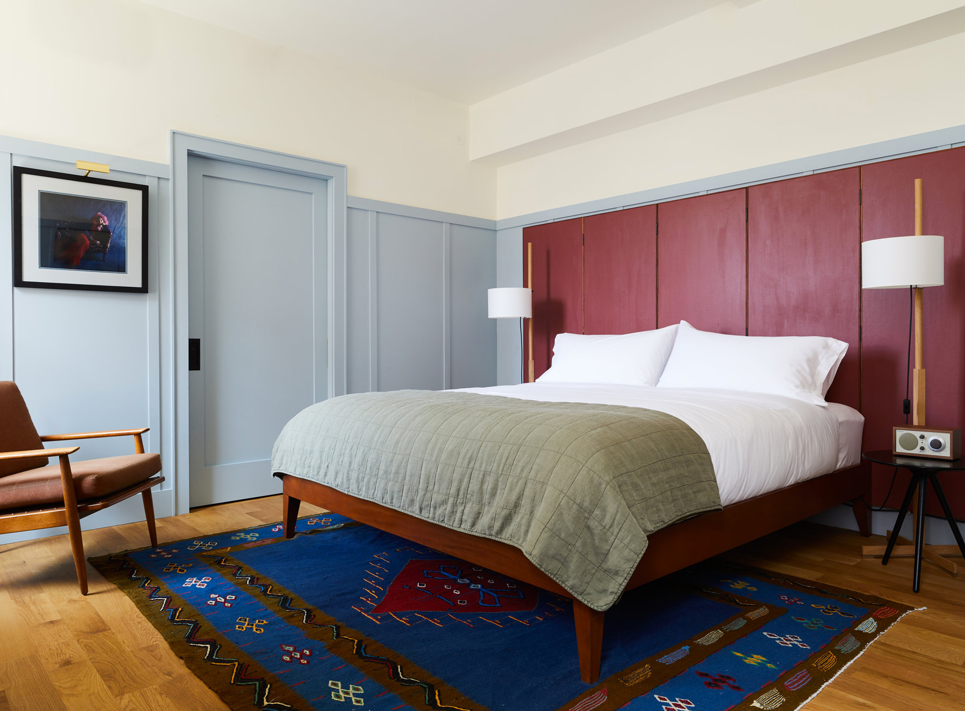 Hotel Kinsley Uptown Kingston Etat New York Hudson Valley Chambre