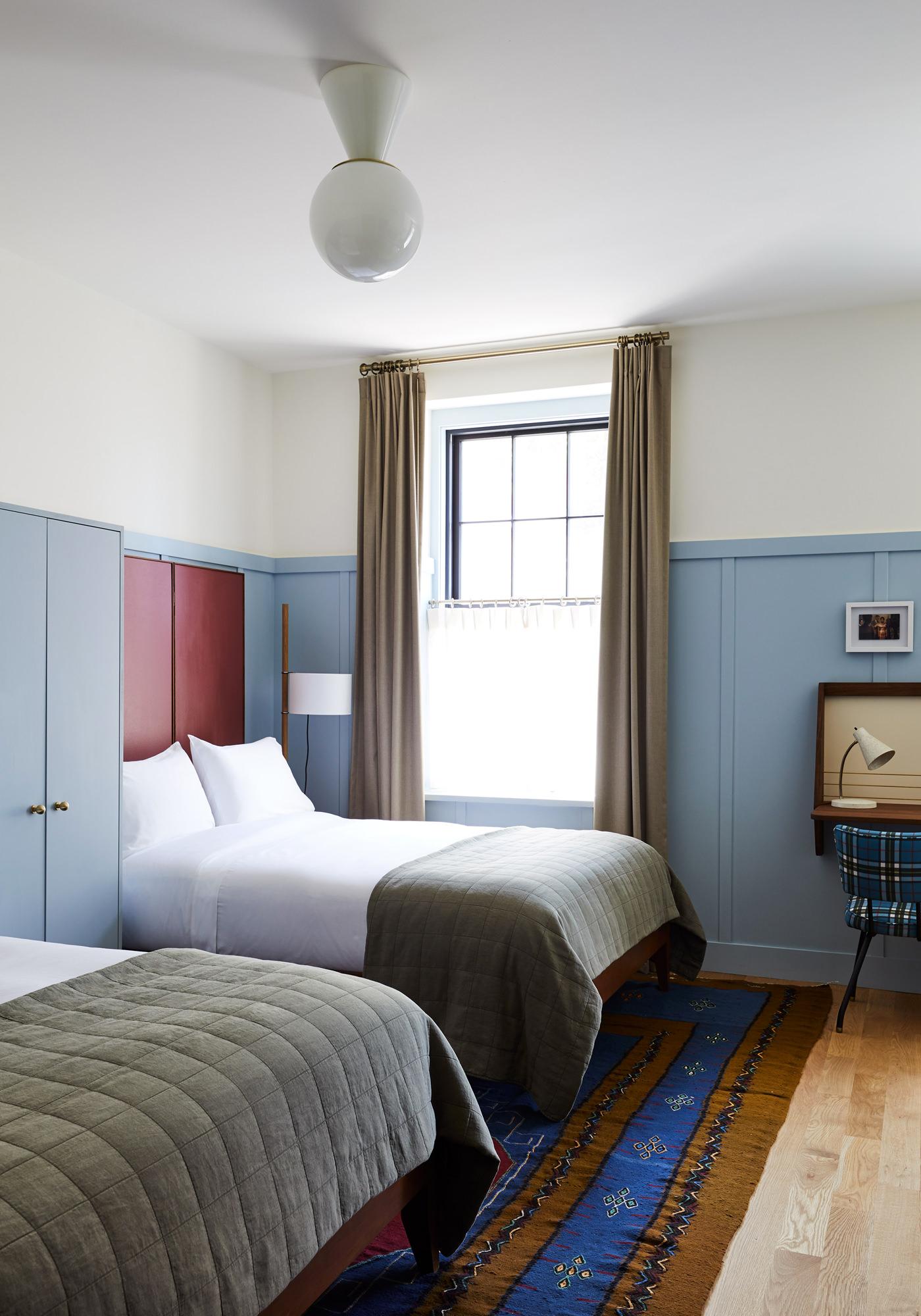 Hotel Kinsley Uptown Kingston Etat New York Hudson Valley Chambre Double