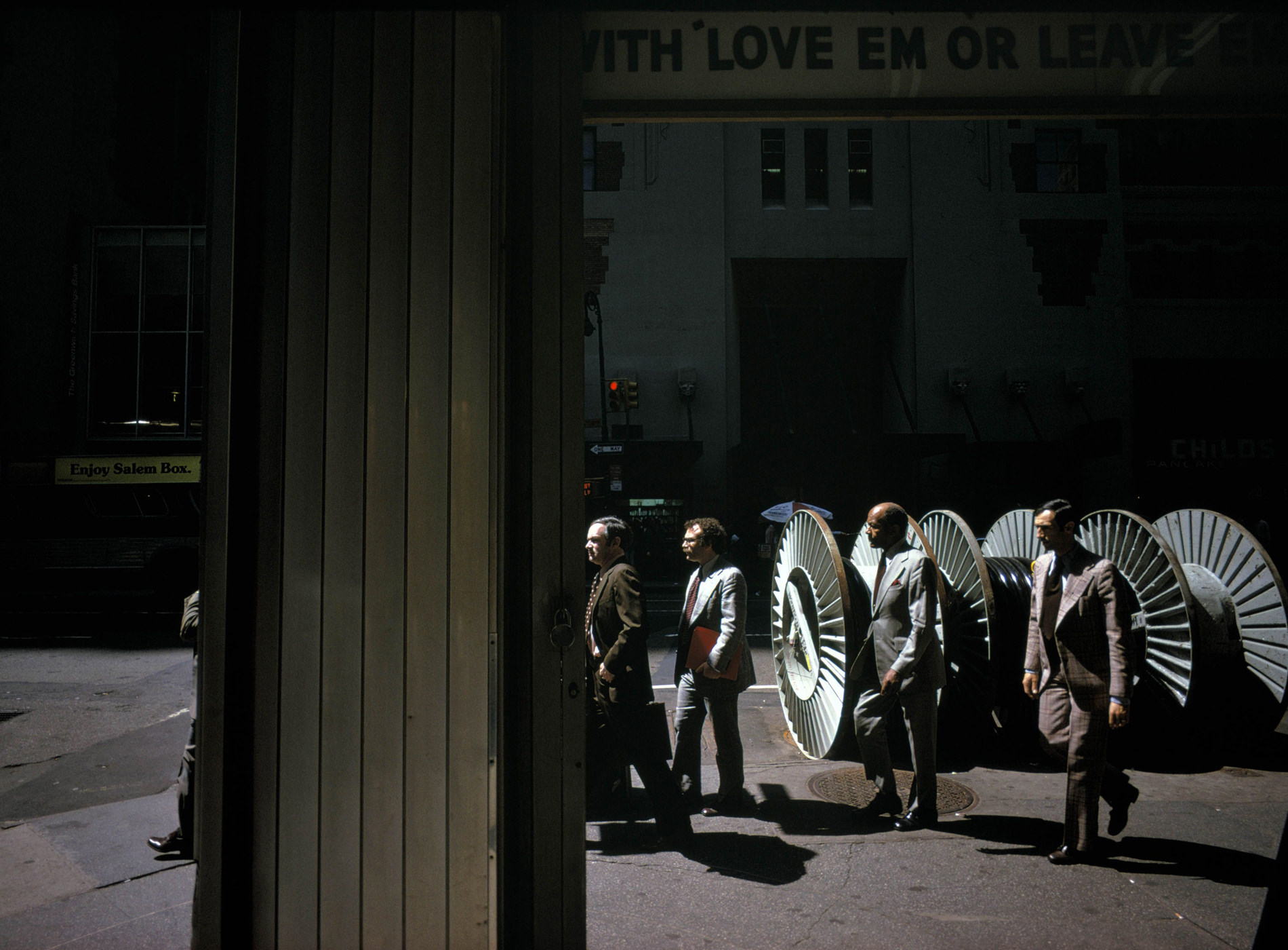 Joel Meyerowitz, New York City, 1976
