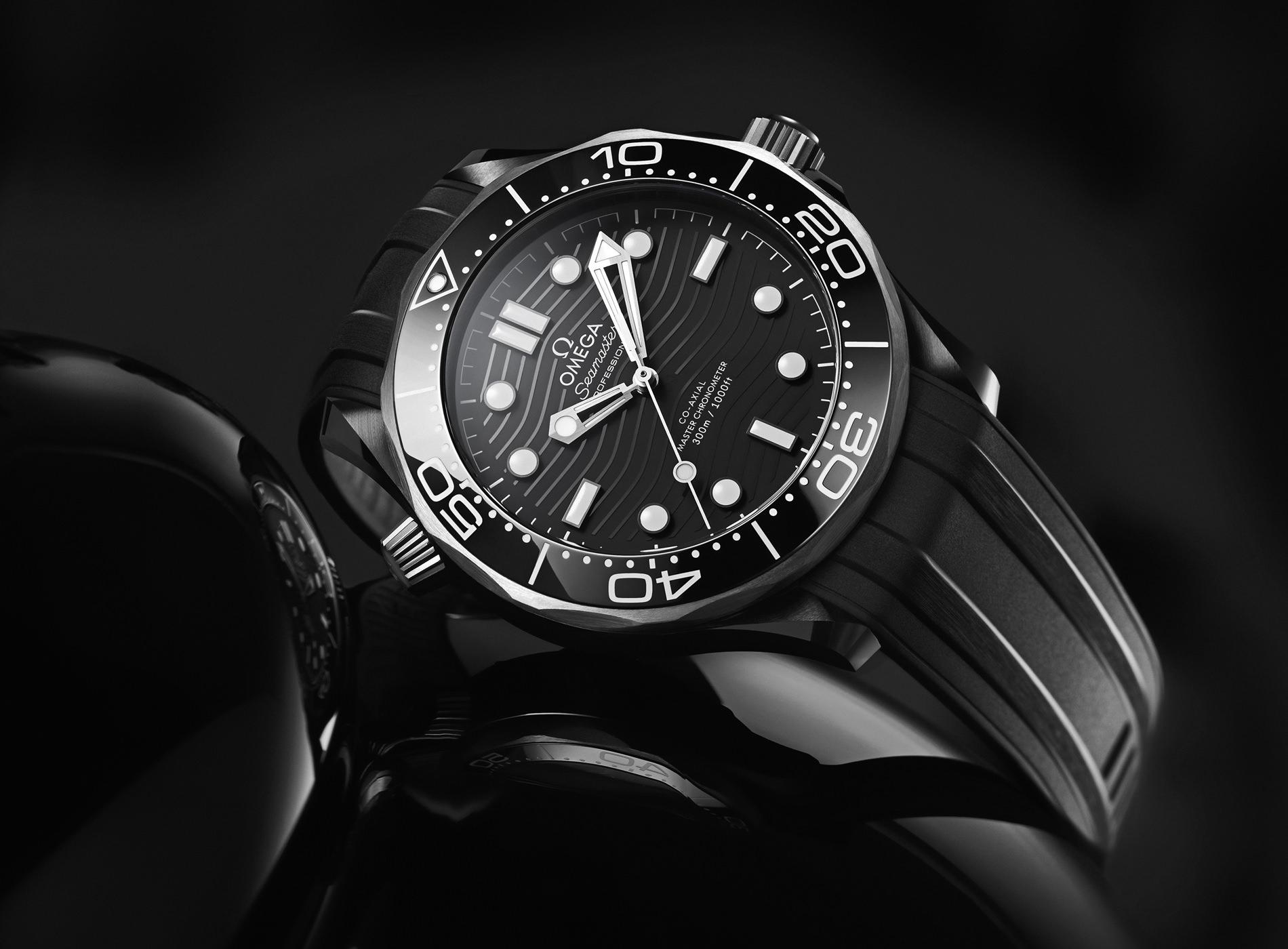 Montre Omega Seamaster Diver 300M Céramique Titanium Mood Générale