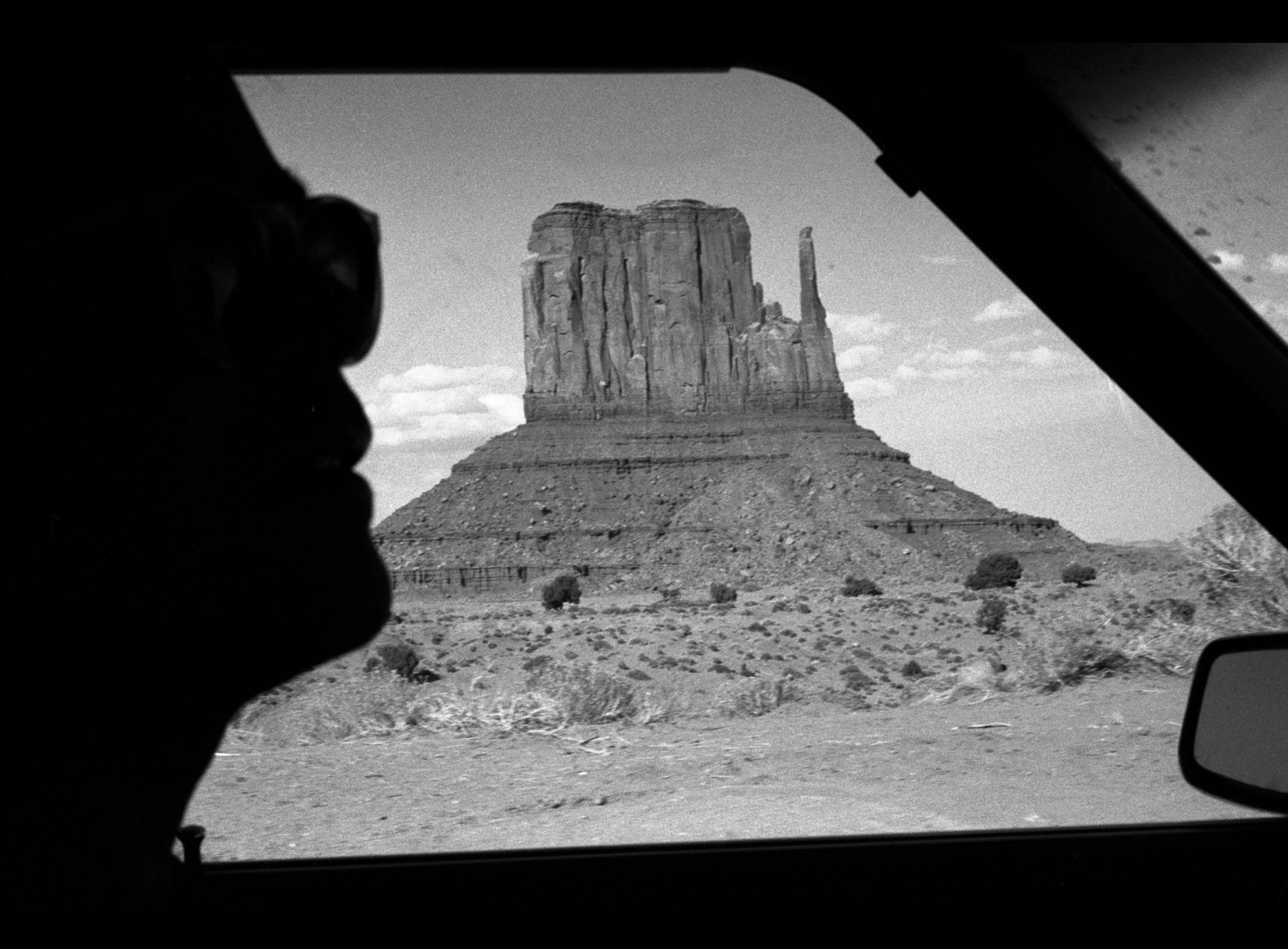 Raymond Depardon, Errances Américaines — USA Utah Monument Valley 1982 (Courtesy Magnum Photos)