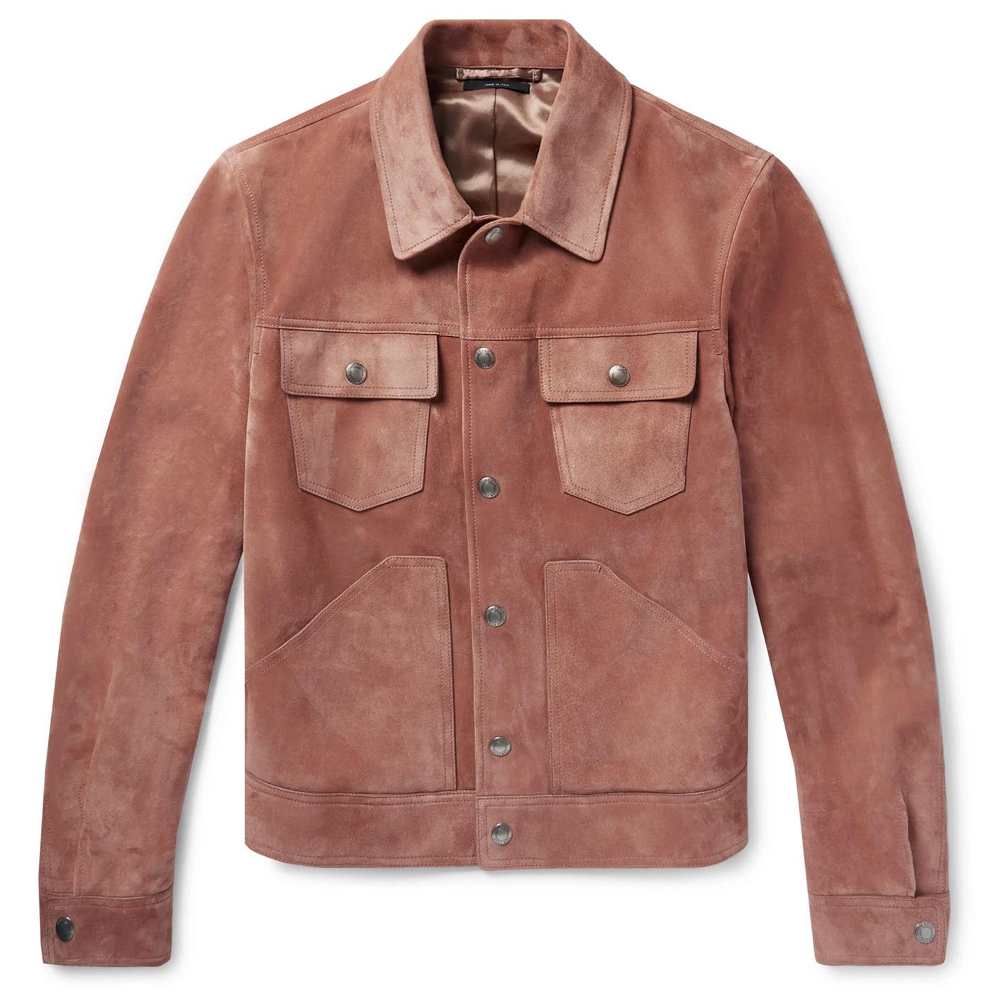Style Mr Porter Veste Daim Tom Ford Rose