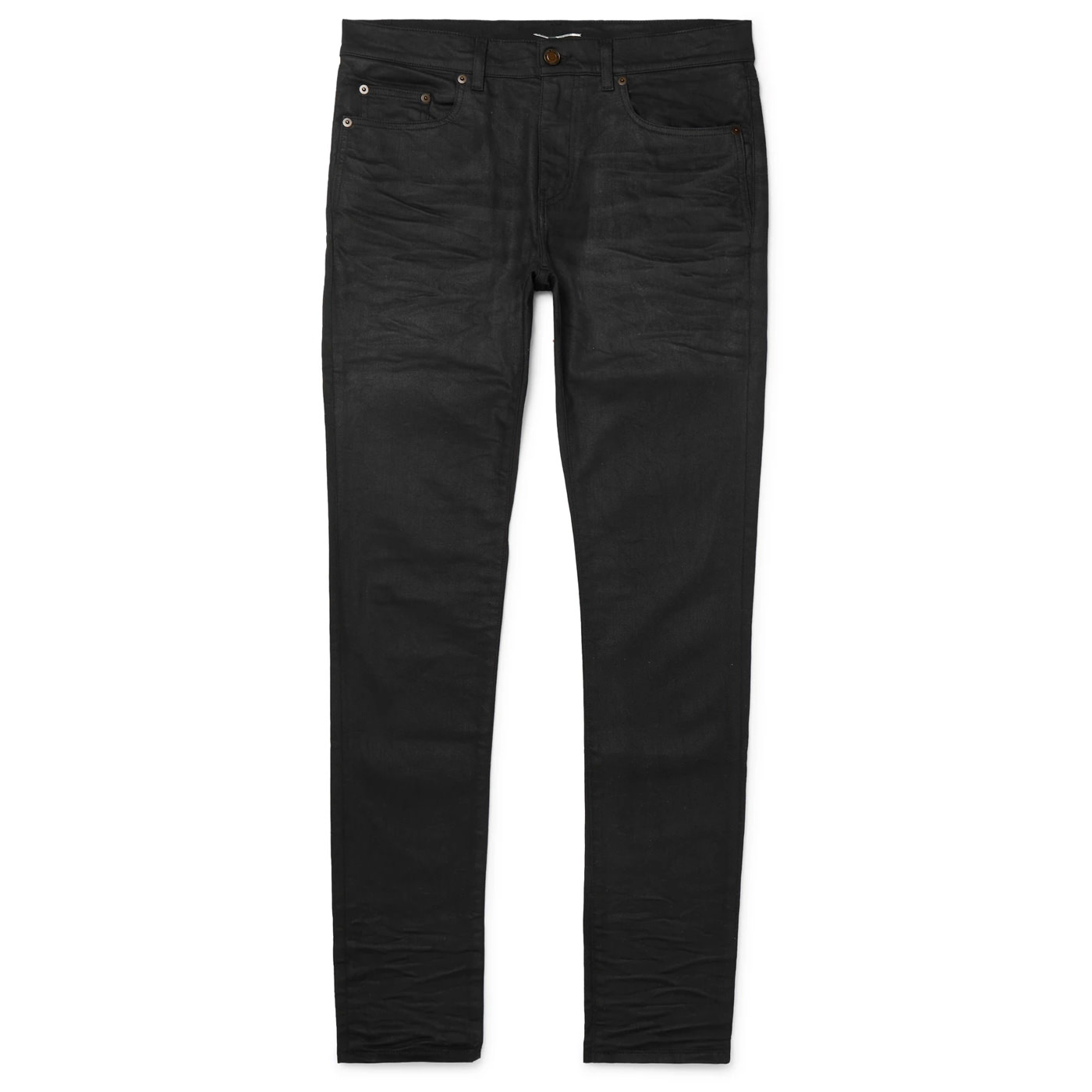 Style Mr Porter Jean Noir Denim Saint Laurent