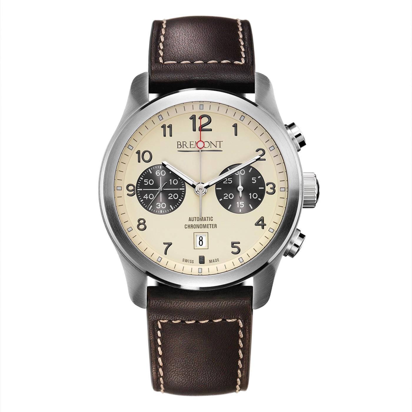 Style Mr Porter Montre Bremont ALT1 Classic Automatic Chronograph 43mm