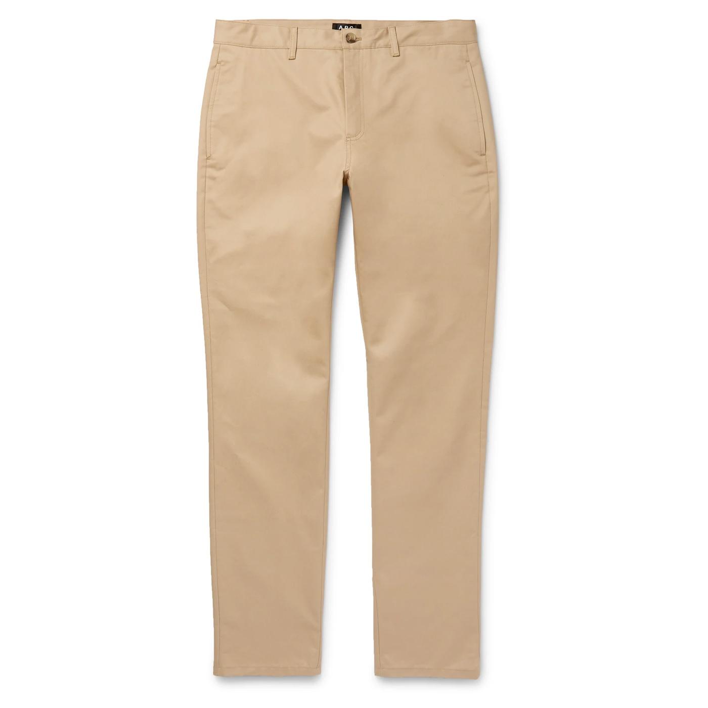 Style Mr Porter Pantalon Chinos APC Navy Classic Beige