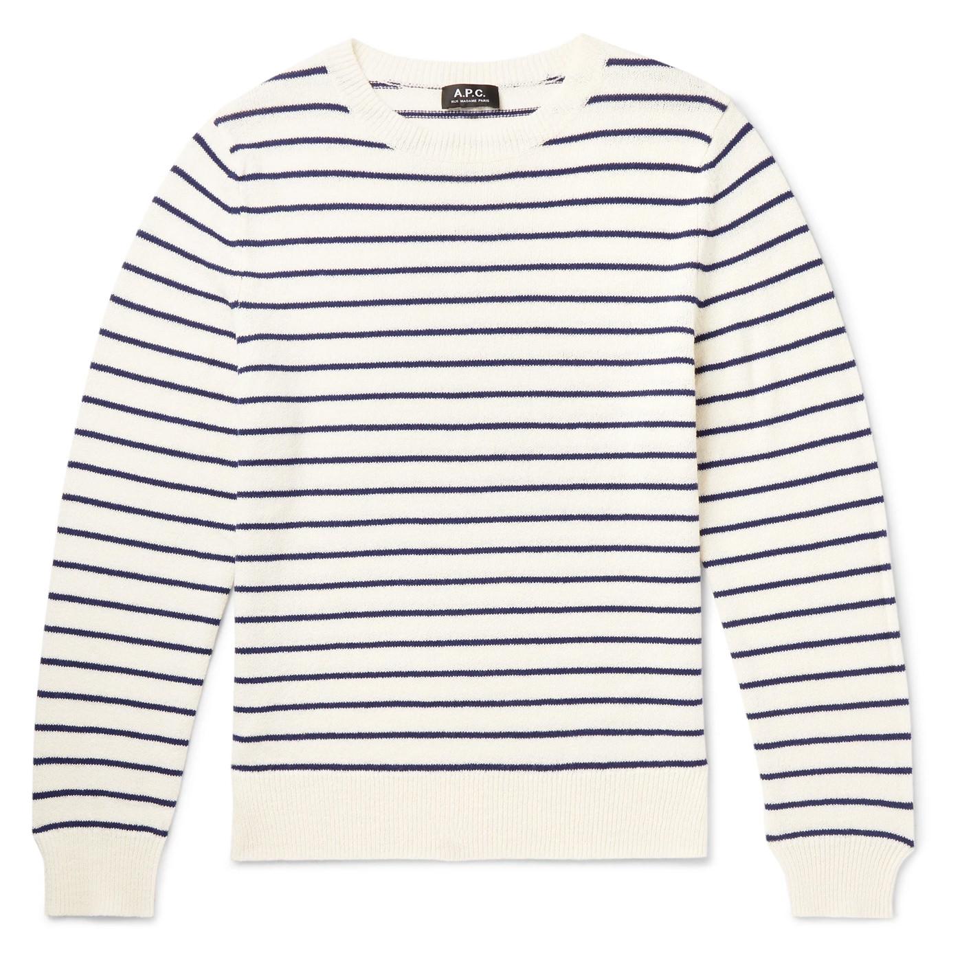 Style Mr Porter Pull Sweater Marin APC