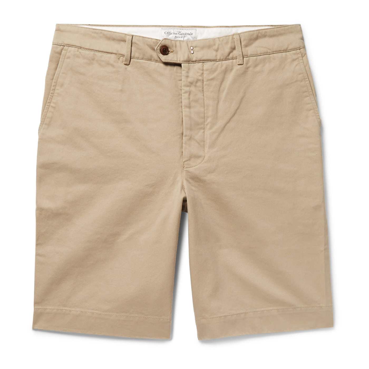 Style Mr Porter Short Bermuda Officine Générale Beige