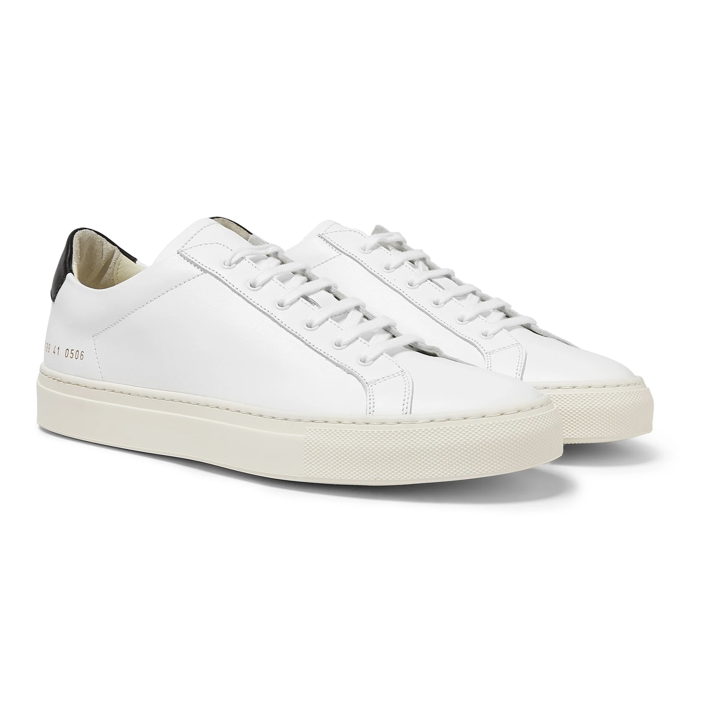 Style Mr Porter Sneakers Common Projects Original Achilles Cuir Retro