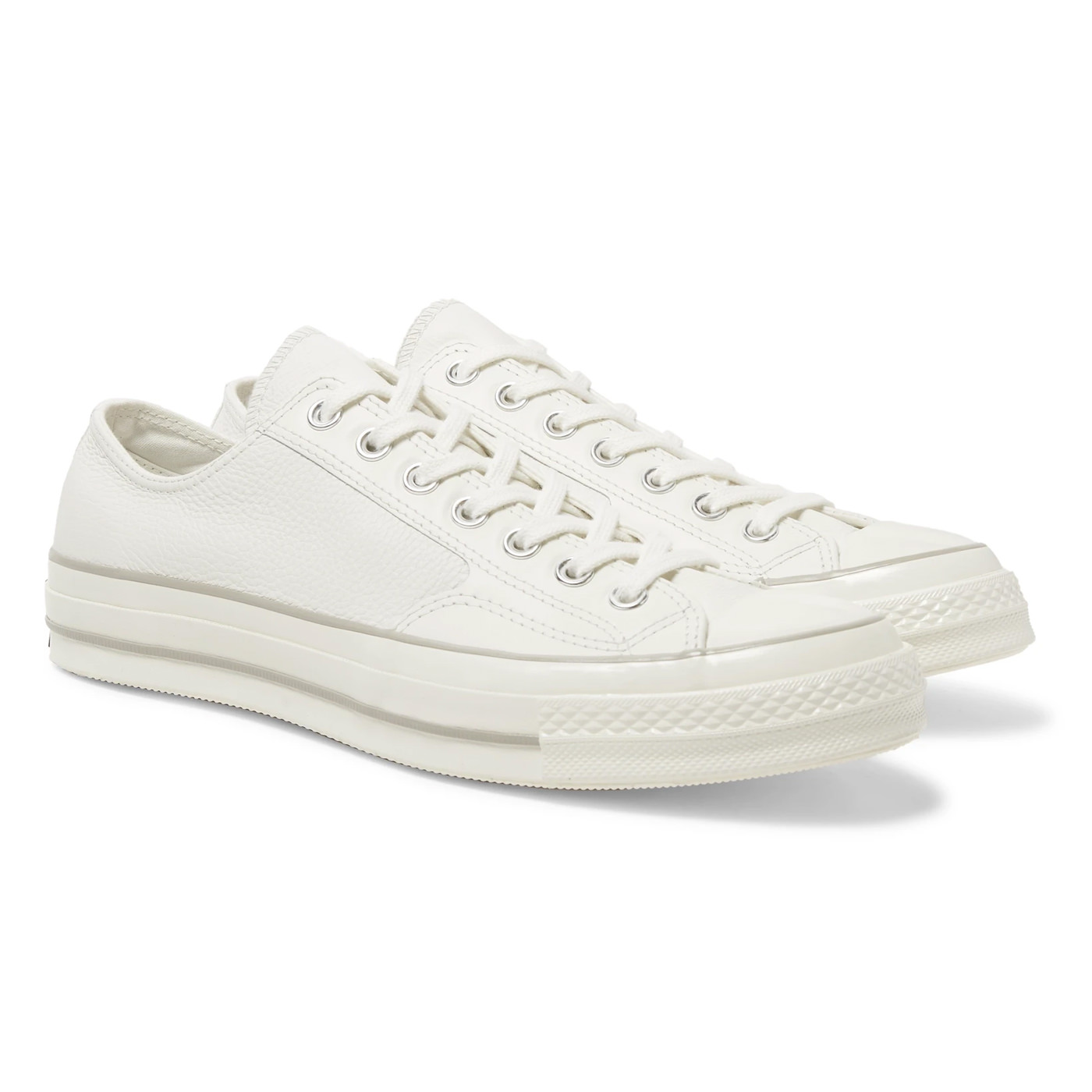 Style Mr Porter Sneakers Converse Chuck Taylor All Star Cuir Blanc