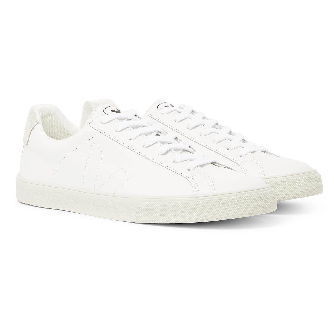 Style Mr Porter Sneakers Veja Cuir Blanc