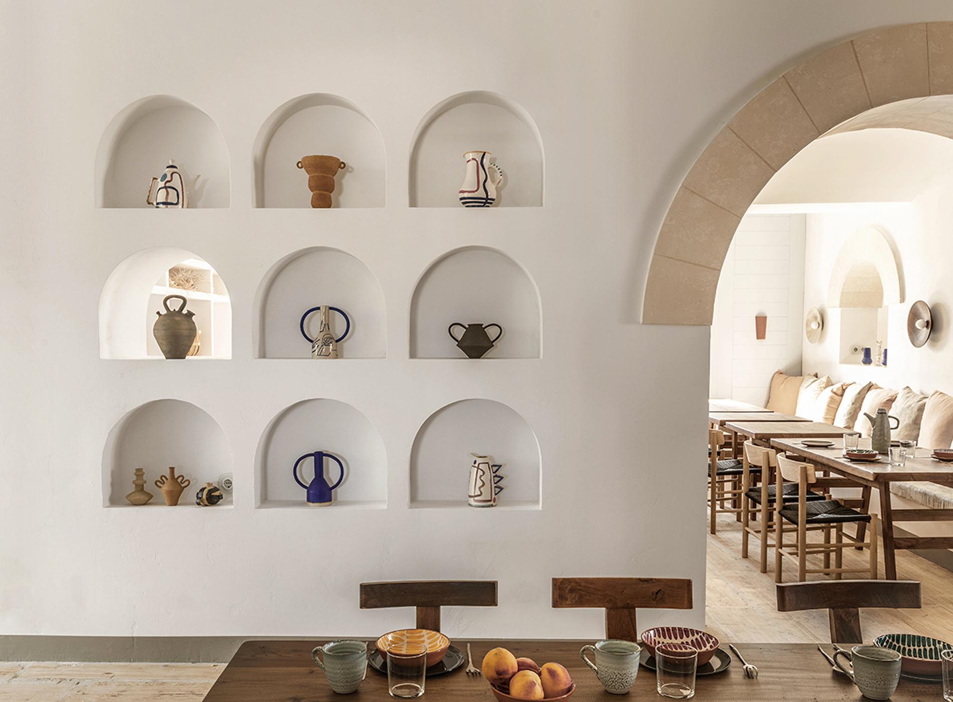 The Menorca Experimental Hotel Minorque Les Baléares Espagne Détails Architecture