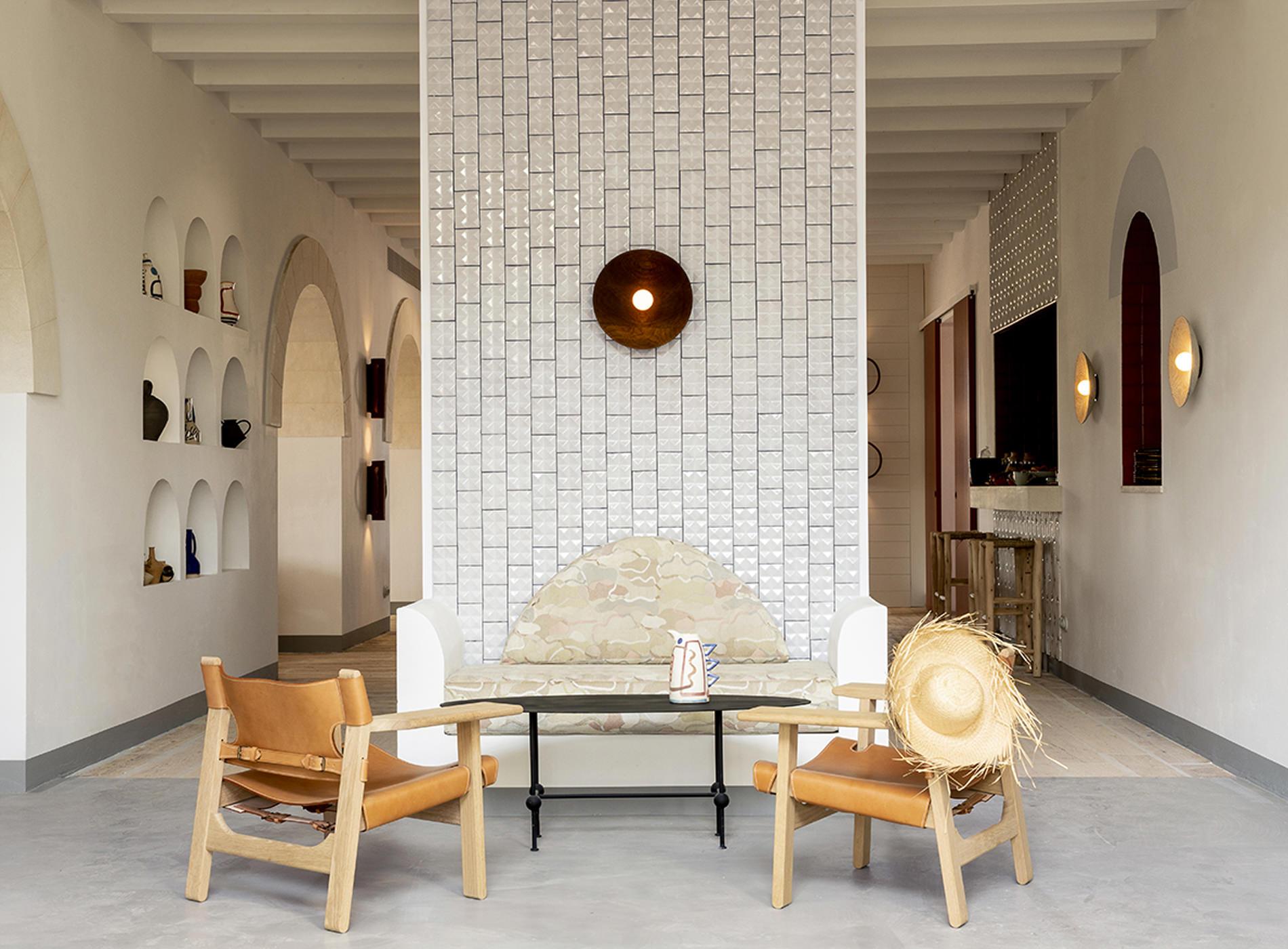 The Menorca Experimental Hotel Minorque Les Baléares Espagne Détails Mobiliers