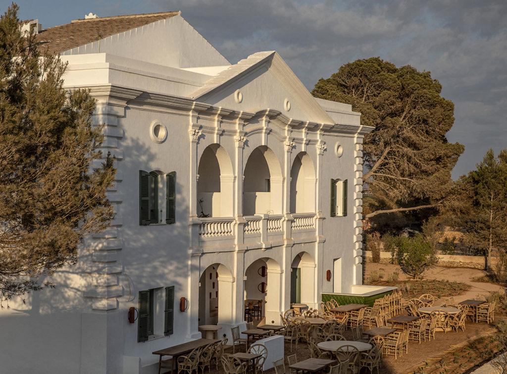 The Menorca Experimental Hotel Minorque Les Baléares Espagne Architecture