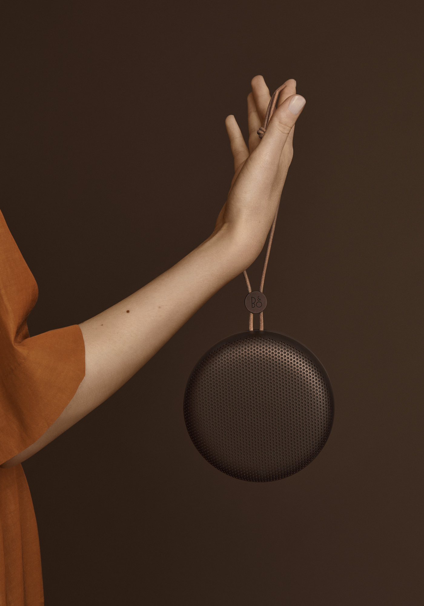 Bang & Olufsen Collection Automne Hiver 2019 Beoplay A1 AW19 Chestnut Mood