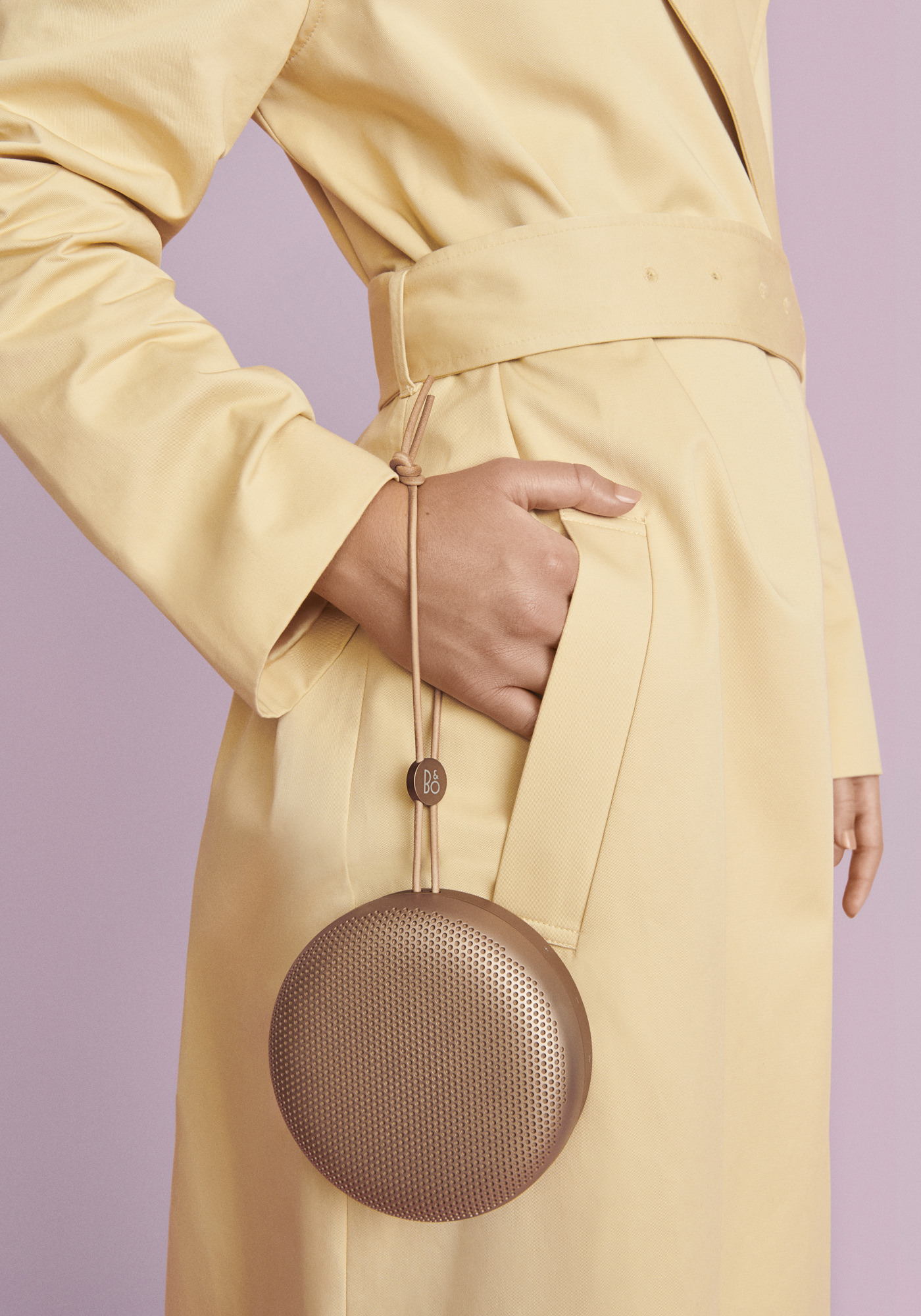 Bang & Olufsen Collection Automne Hiver 2019 Beoplay A1 AW19 Tan Mood