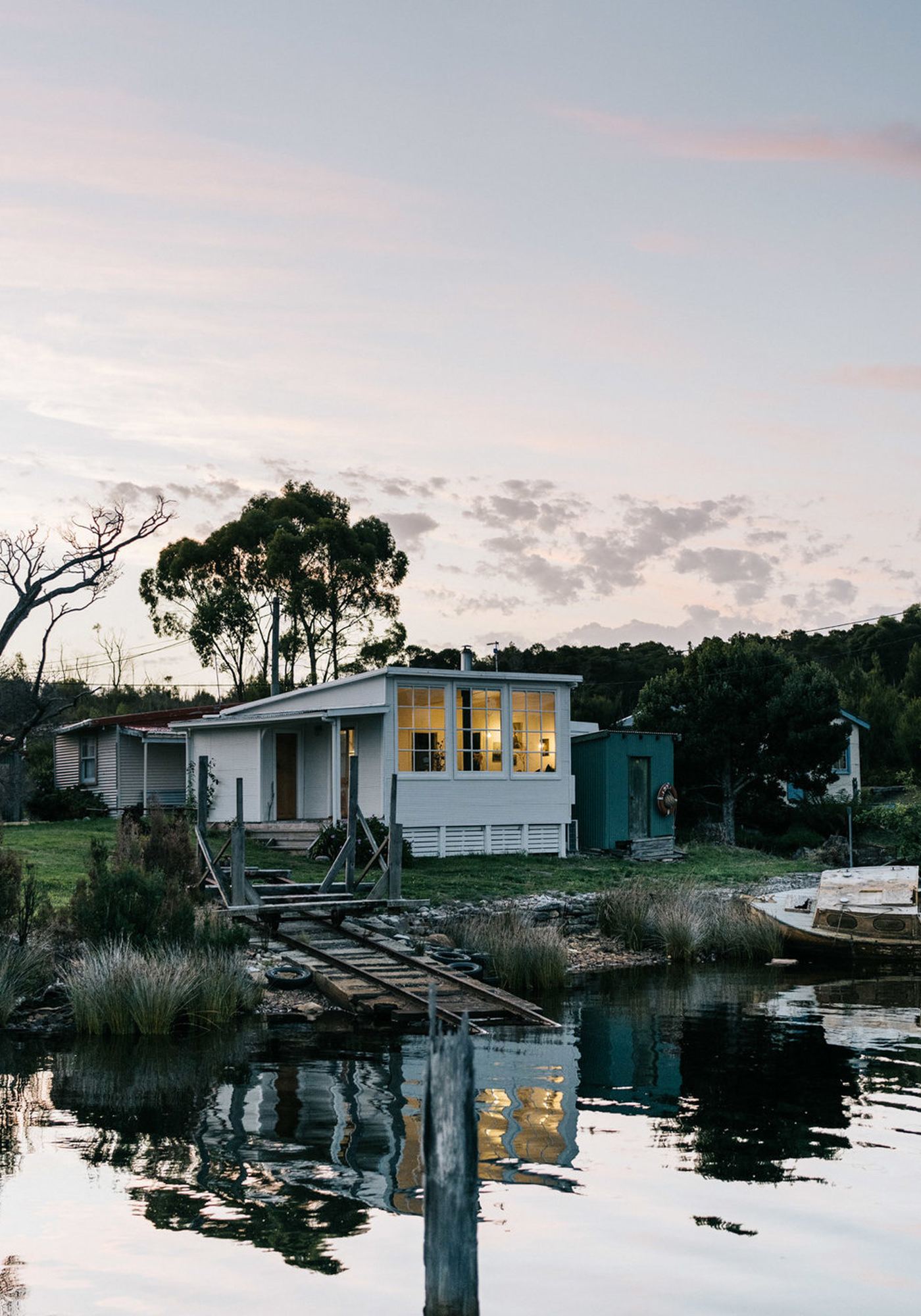 Captains Rest Lodge Tasmanie Australie Beach House Location Boutique Homes