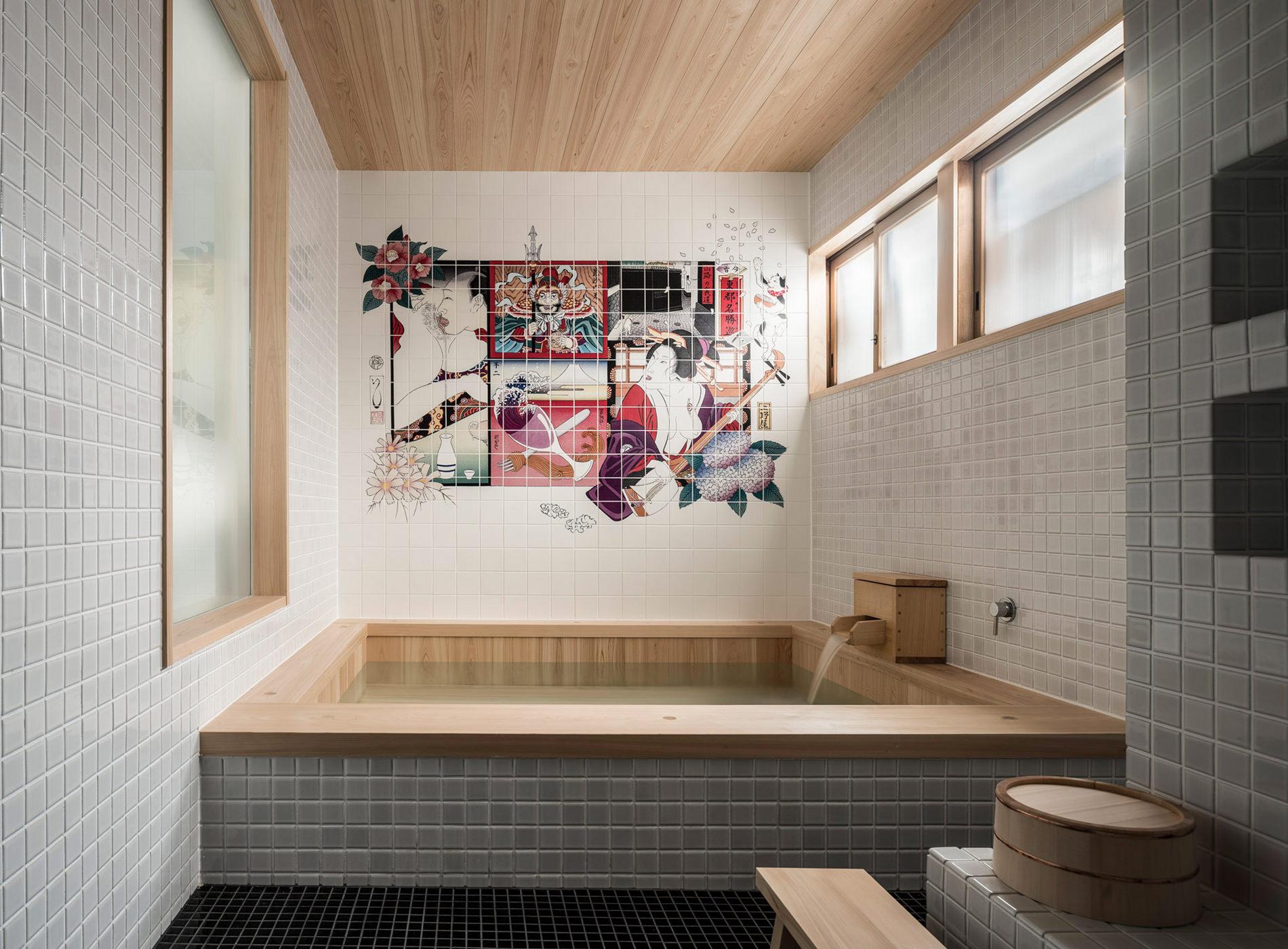 City Guide Tokyo Kagurazaka Trunk House Bains