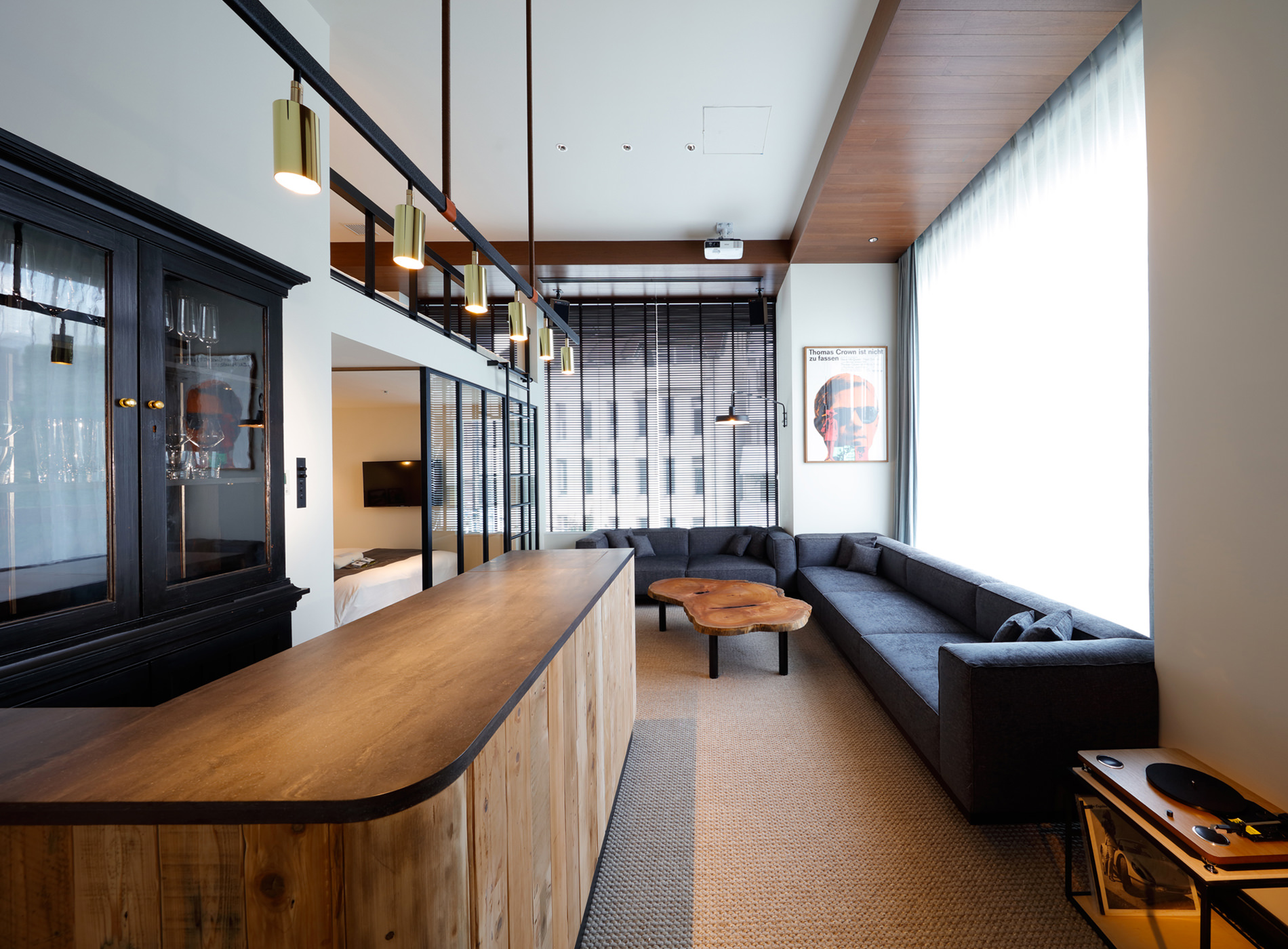 City Guide Tokyo Shibuya Trunk Hotel Living Suite