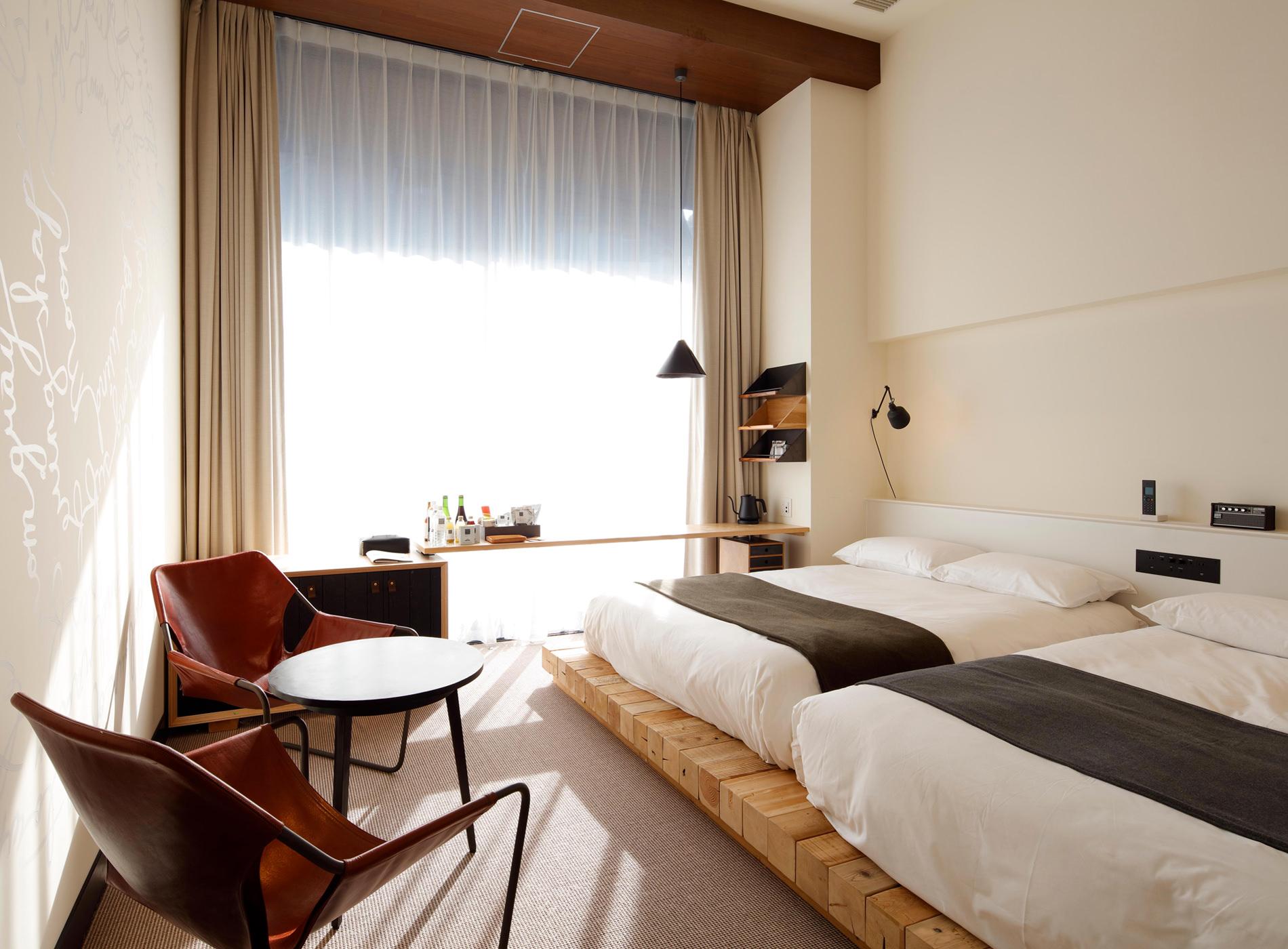 City Guide Tokyo Shibuya Trunk Hotel Standard Plus Loft
