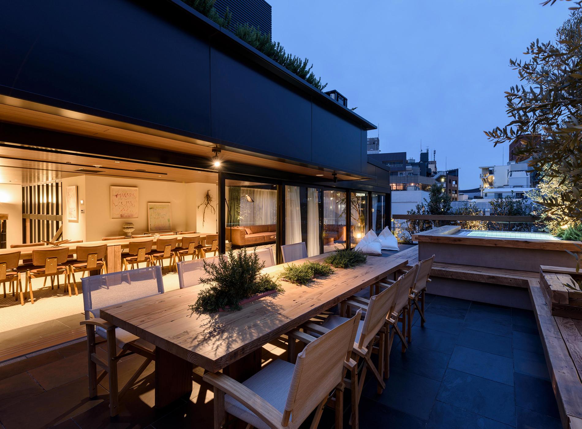 City Guide Tokyo Shibuya Trunk Hotel Terrasse Suite