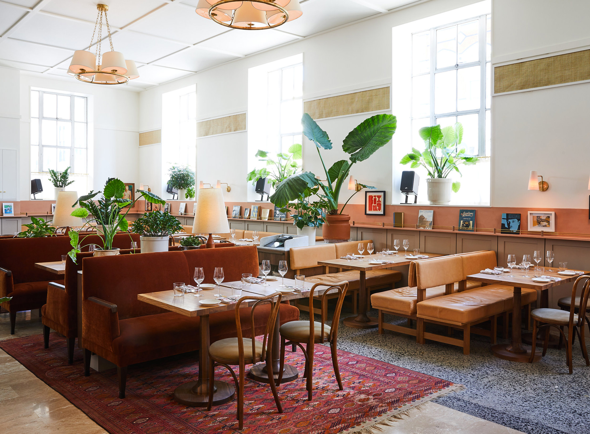 Hotel Kinsley Uptown Kingston Etat New York Hudson Valley Restaurant