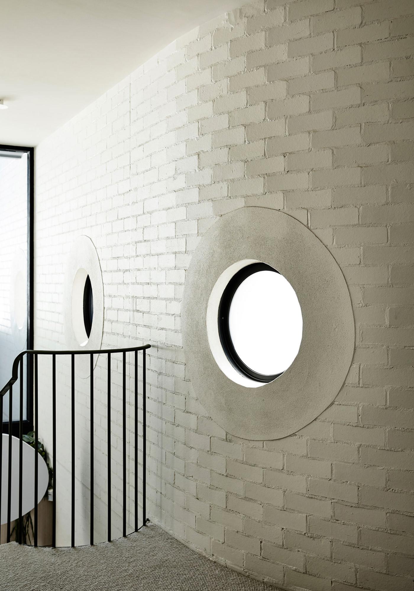 Kennedy Nolan Architects Edwardian Caroline House Melbourne Architecture Volumes Escalier