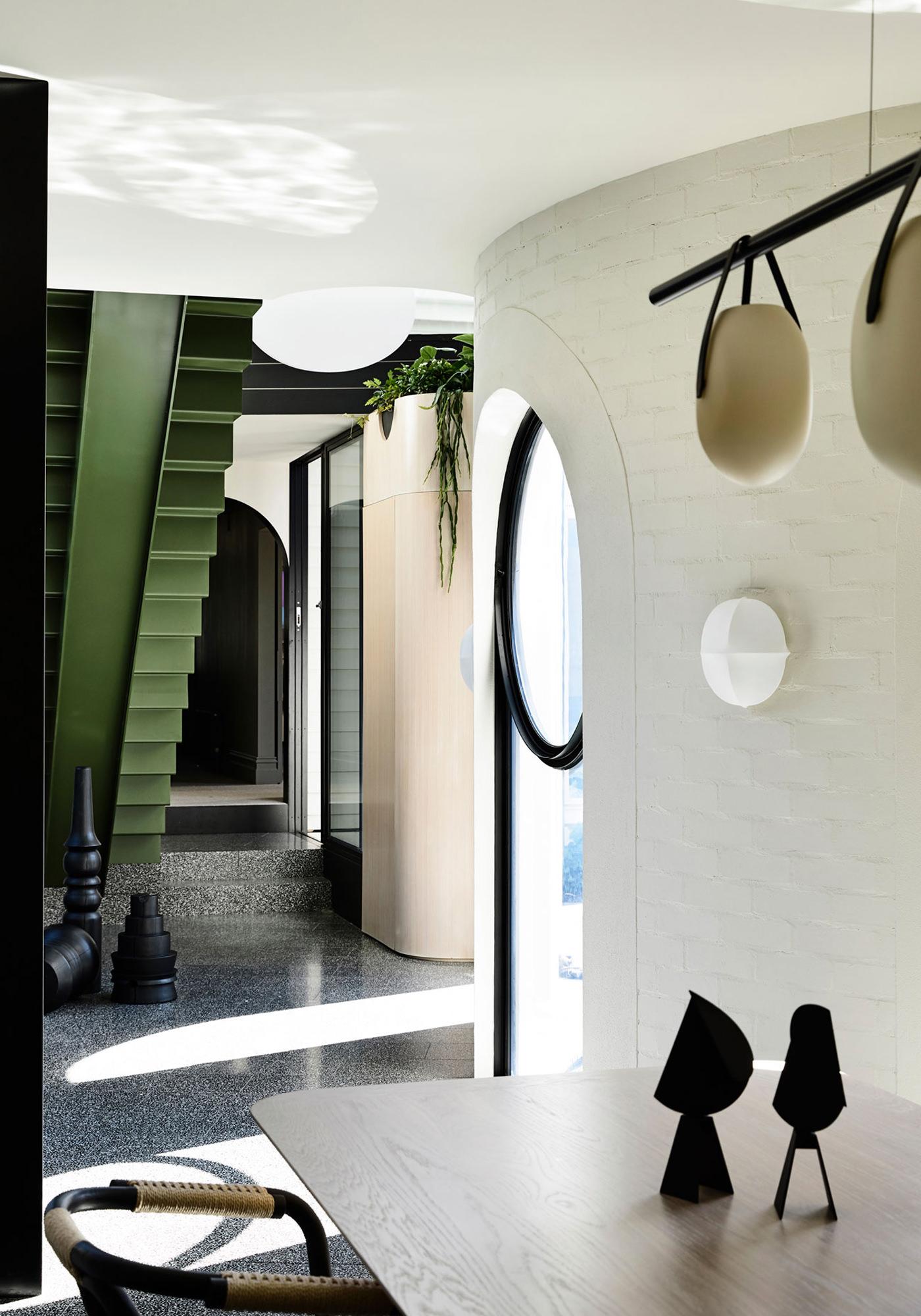 Kennedy Nolan Architects Edwardian Caroline House Melbourne Détails Mobiliers